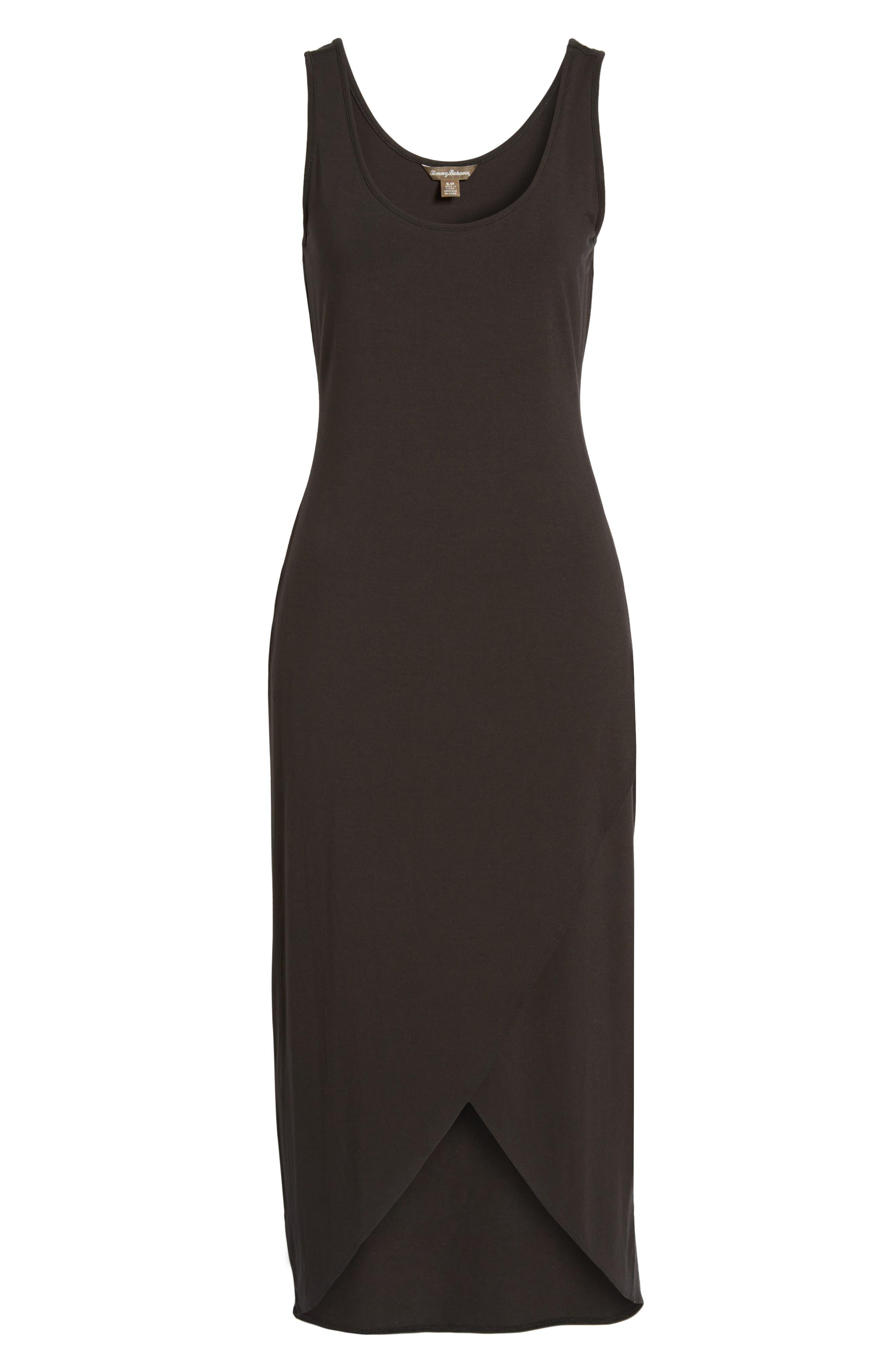 Tambour Maxi Dress,                         Main,                         color, Black