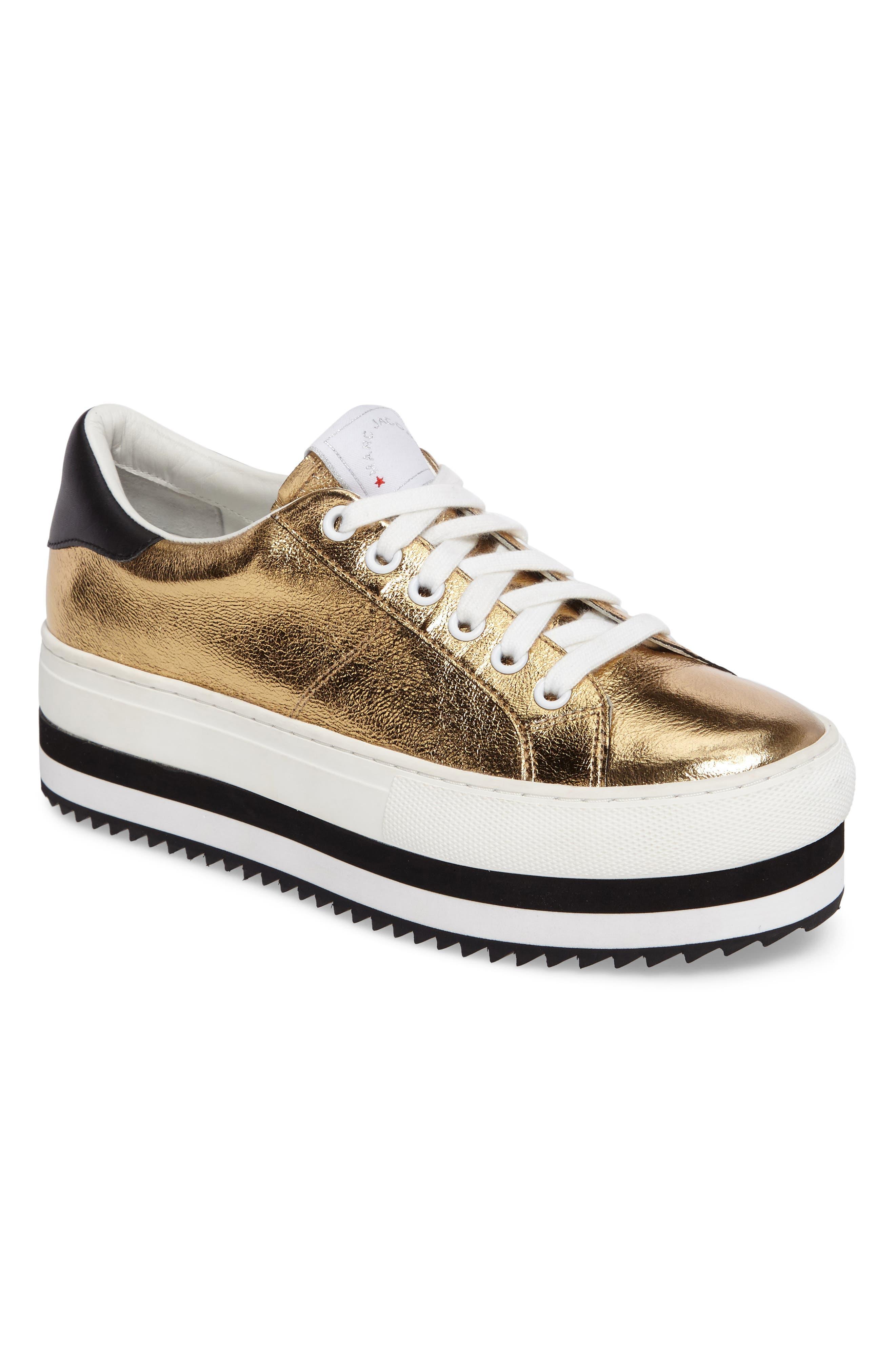 Grand Platform Sneaker,                         Main,                         color, Gold