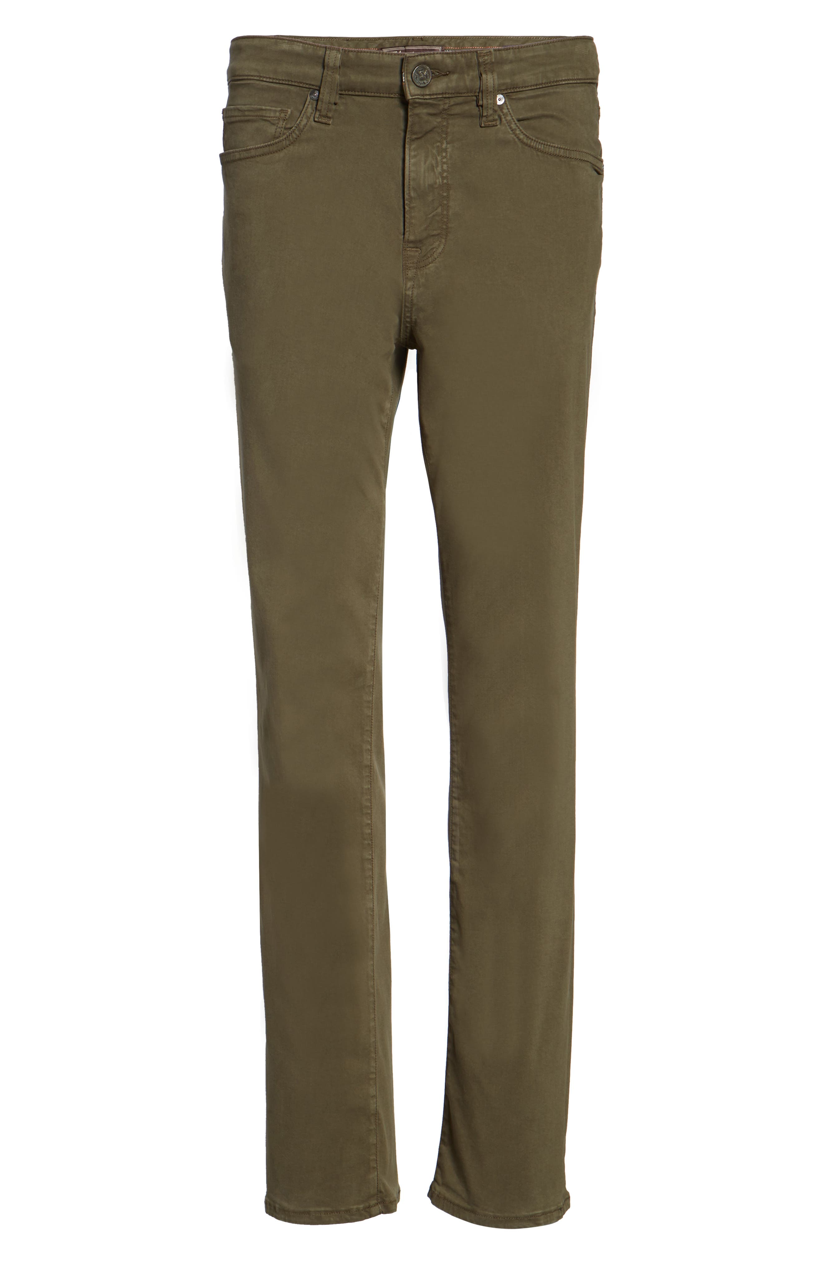 Charisma Relaxed Fit Pants,                             Alternate thumbnail 6, color,                             Olive Twill