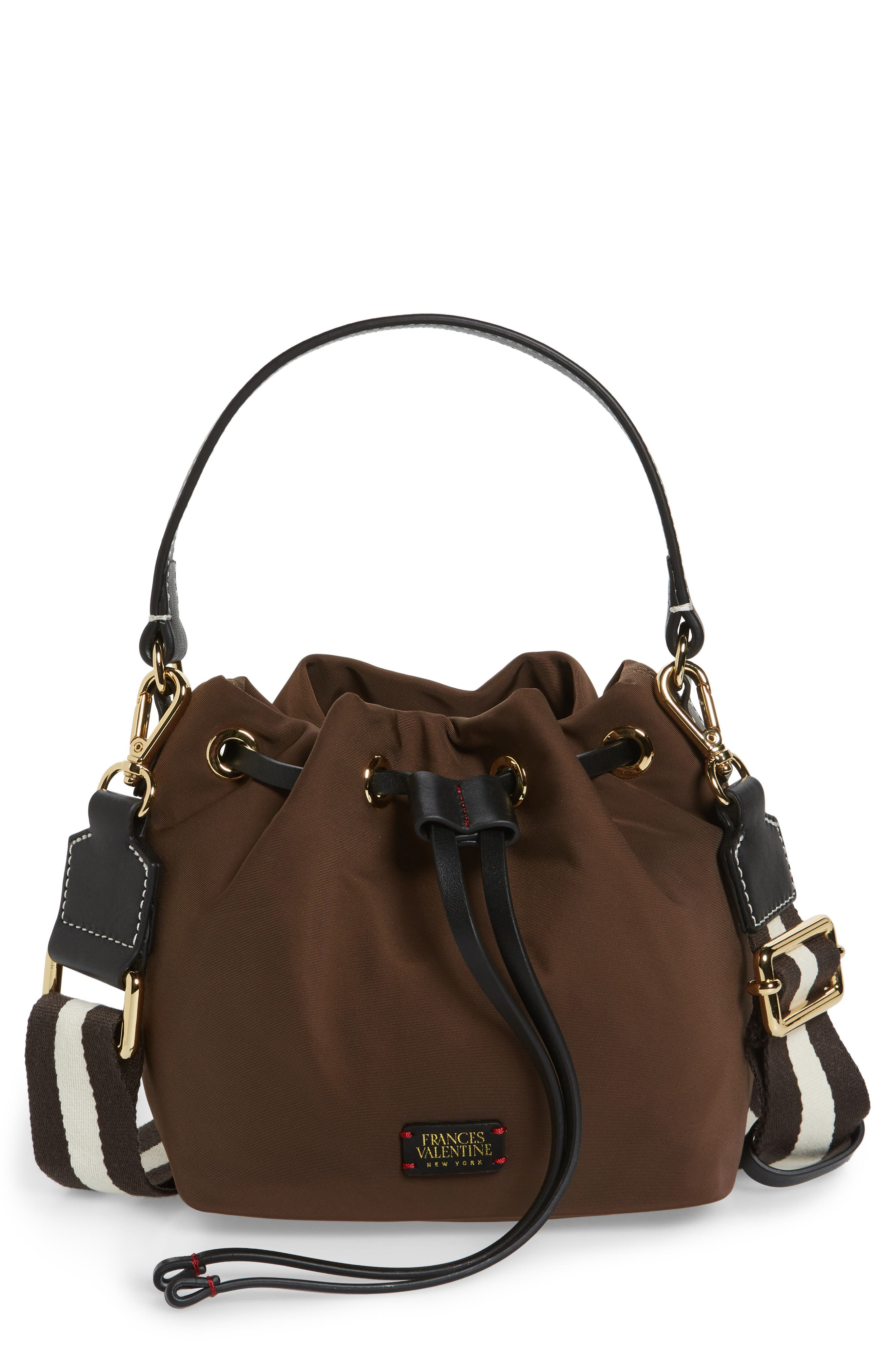 Main Image - Frances Valentine Small Ann Nylon Bucket Bag
