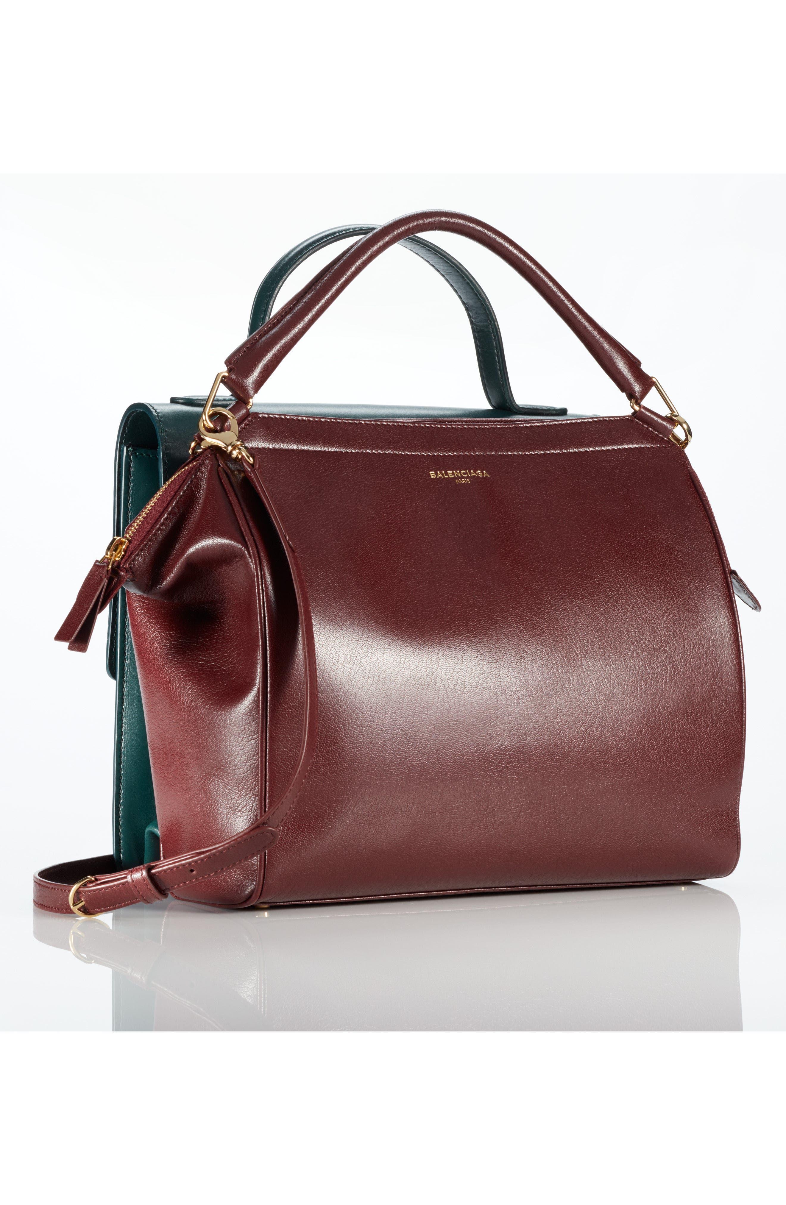 Alternate Image 6  - Balenciaga Collage Double Calfskin Leather Bag