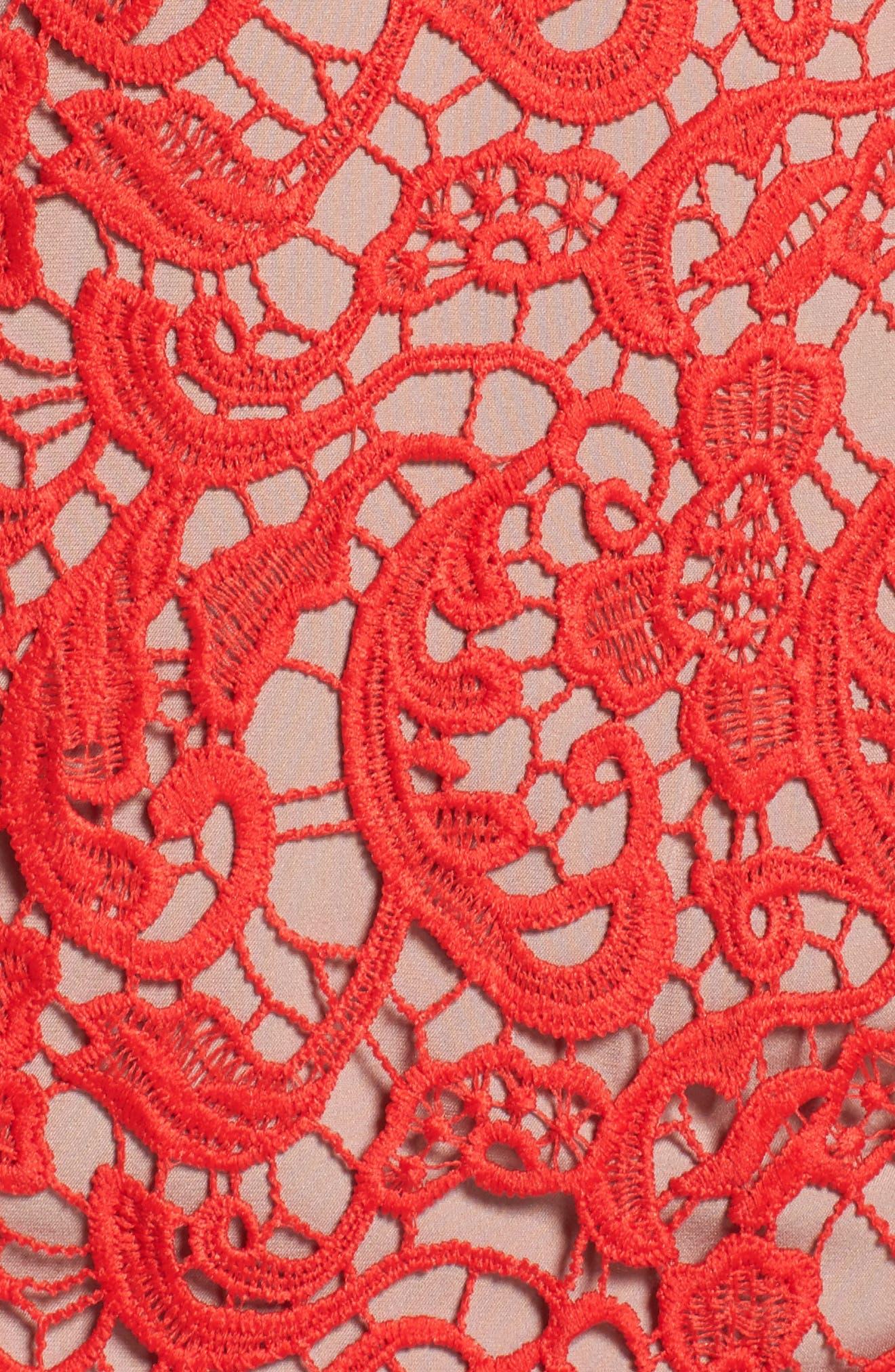 Alternate Image 5  - Chelsea28 Lace Sheath Dress