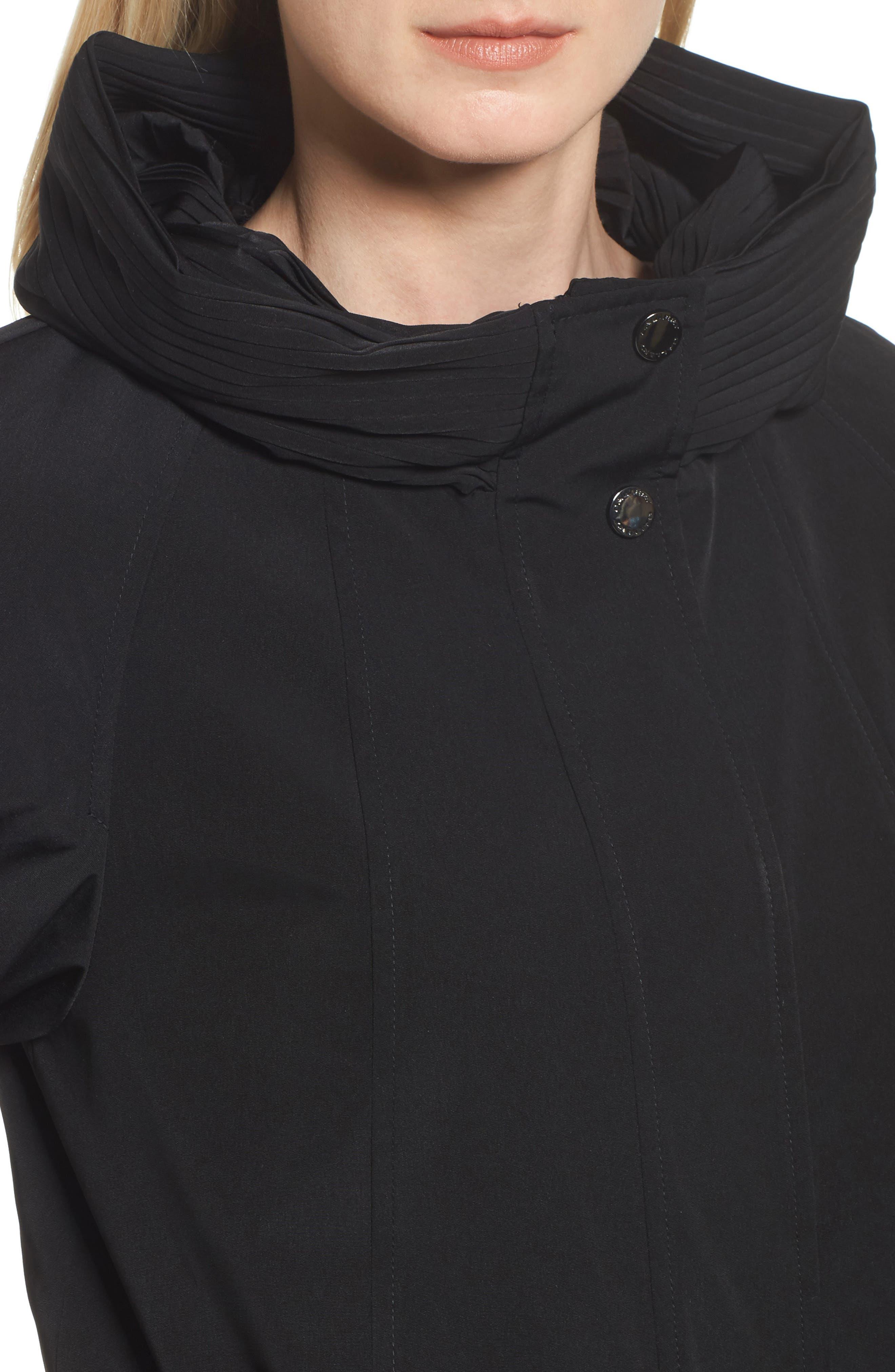 Alternate Image 4  - Gallery A-Line Raincoat (Regular & Petite)