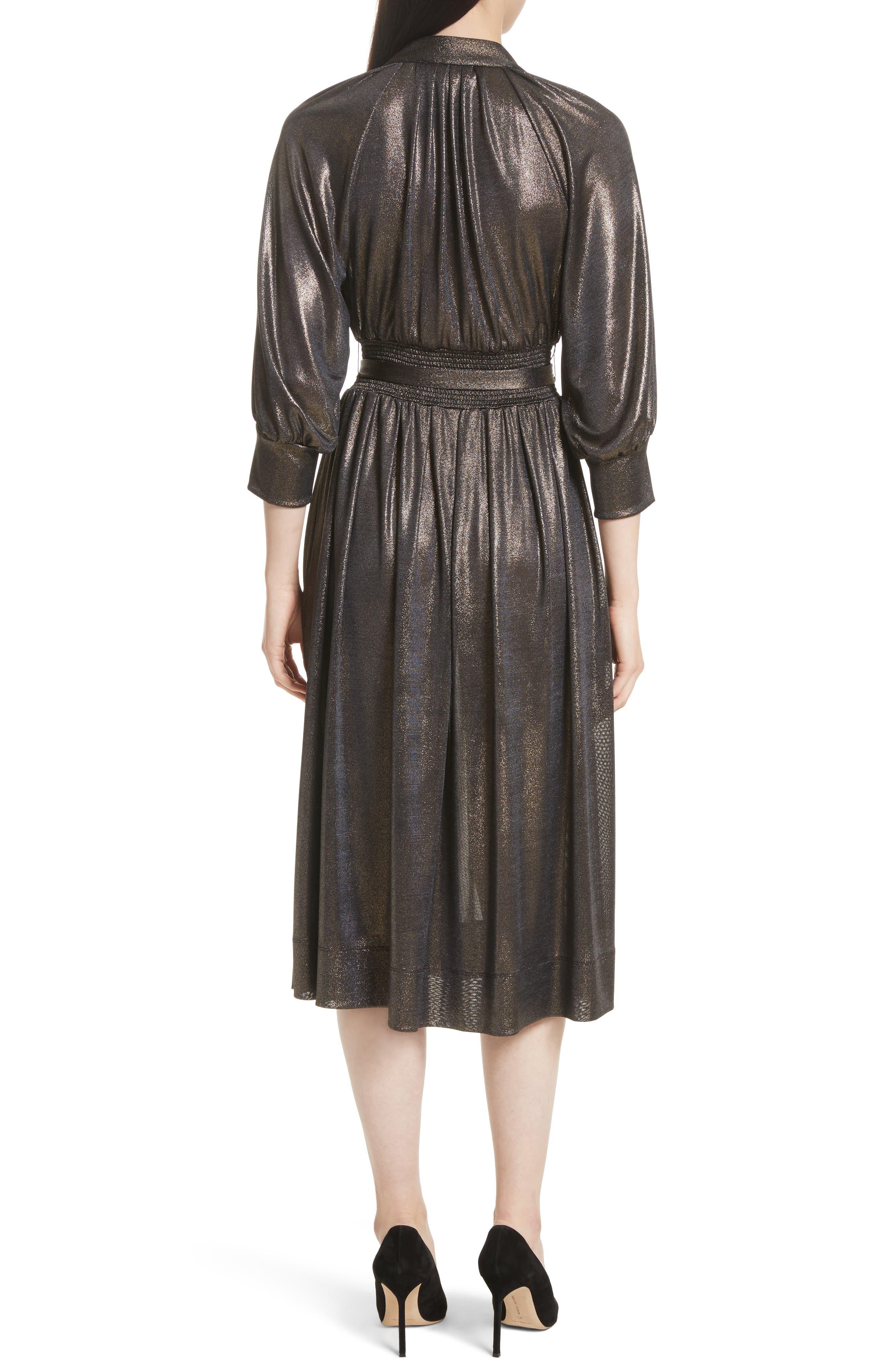 Alternate Image 2  - Tracy Reese Peasant Midi Dress