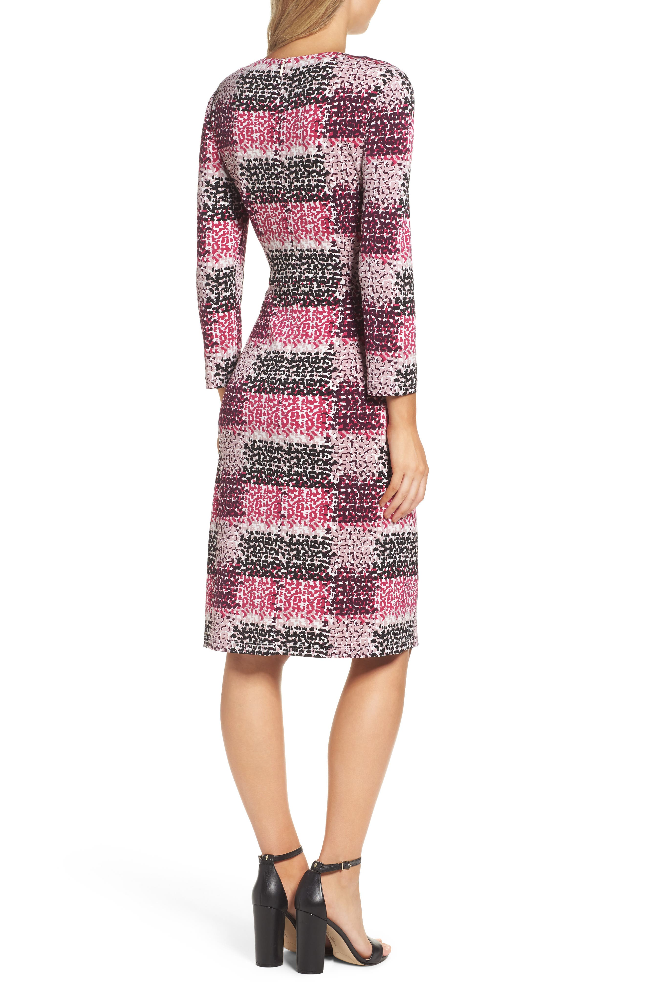 Alternate Image 3  - Eliza J Jersey Sheath Dress (Regular & Petite)