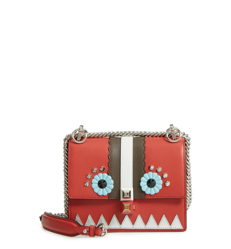ec42b42945 mini-kan-i-faces-leather-shoulder-bag by fendi