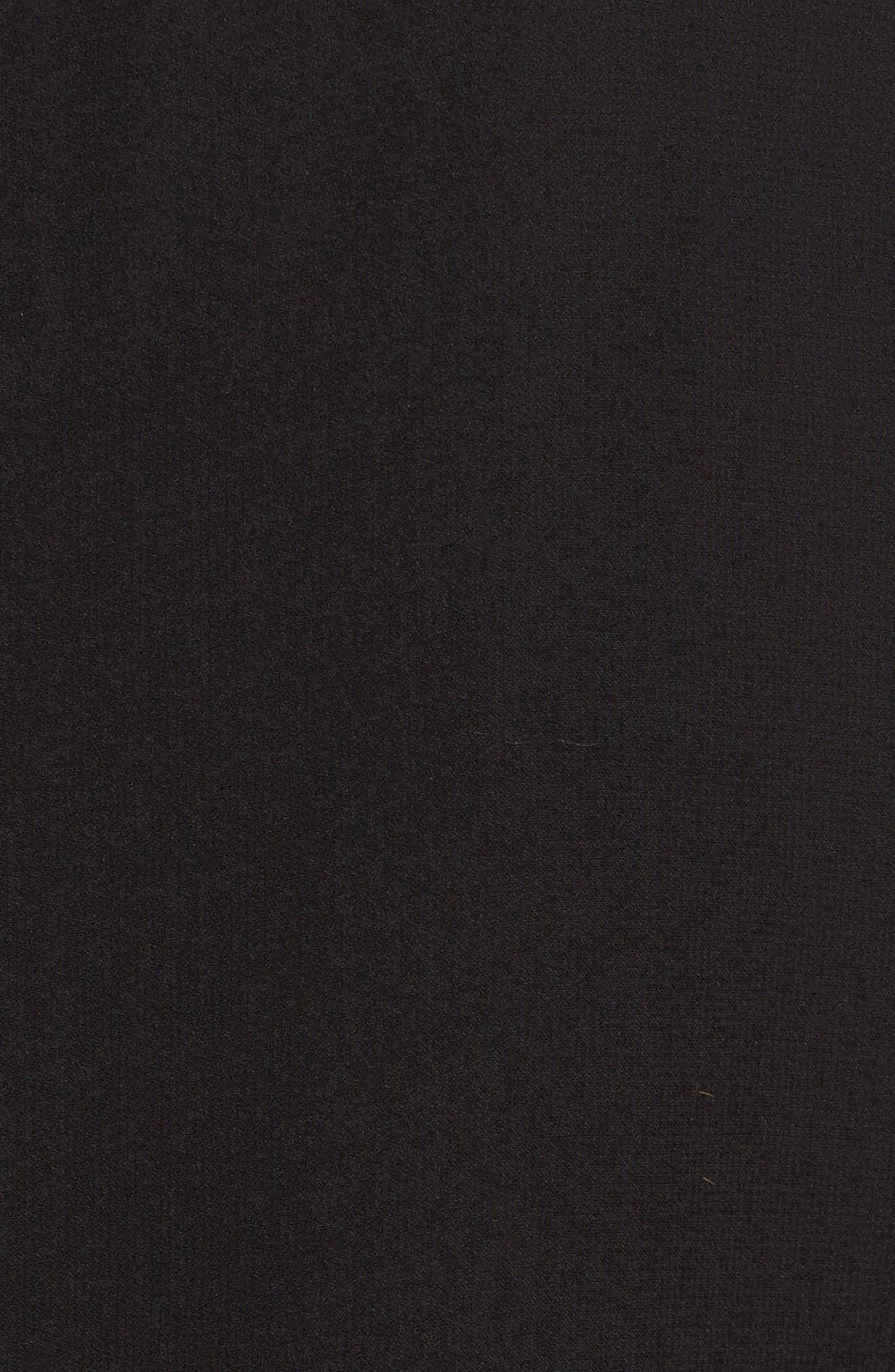 Dante Silk Blouse,                             Alternate thumbnail 5, color,                             Black