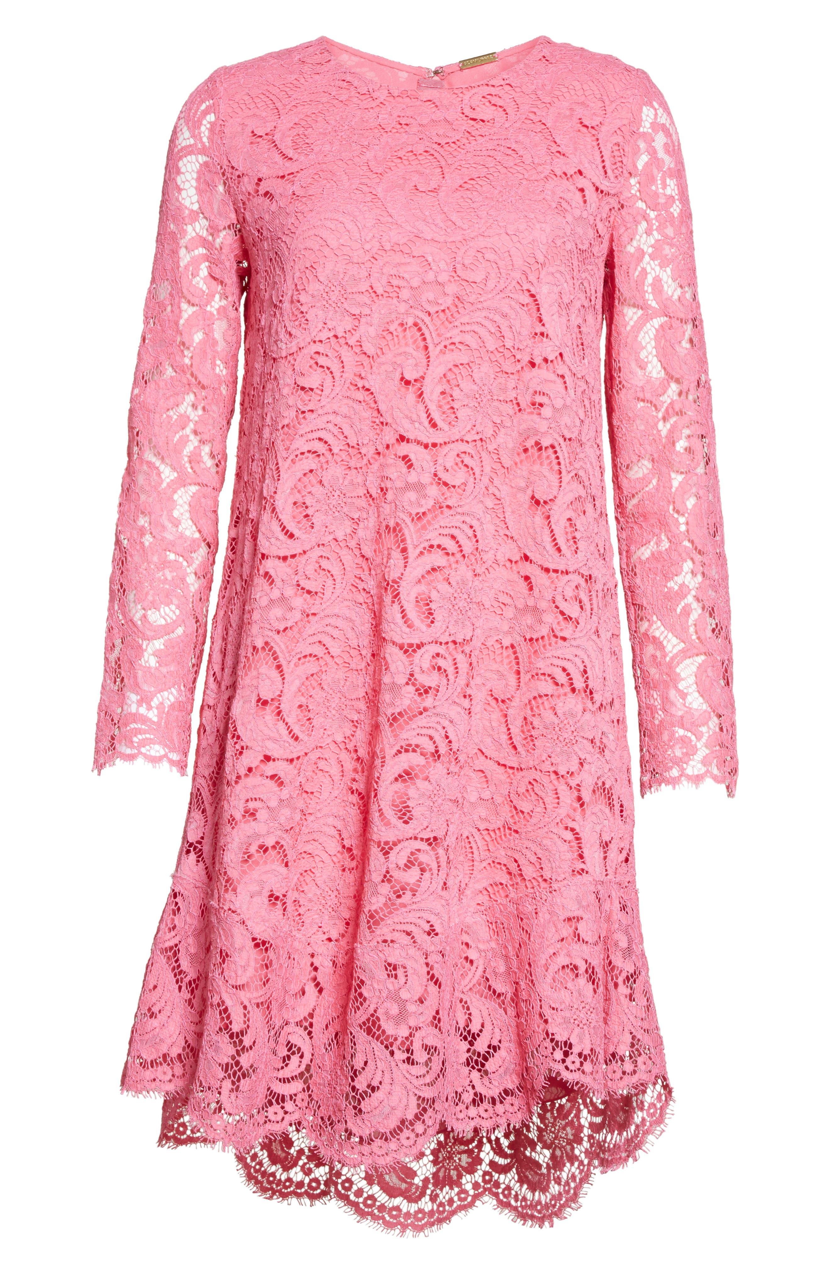 Alternate Image 6  - Adam Lippes Corded Lace Trapeze Dress