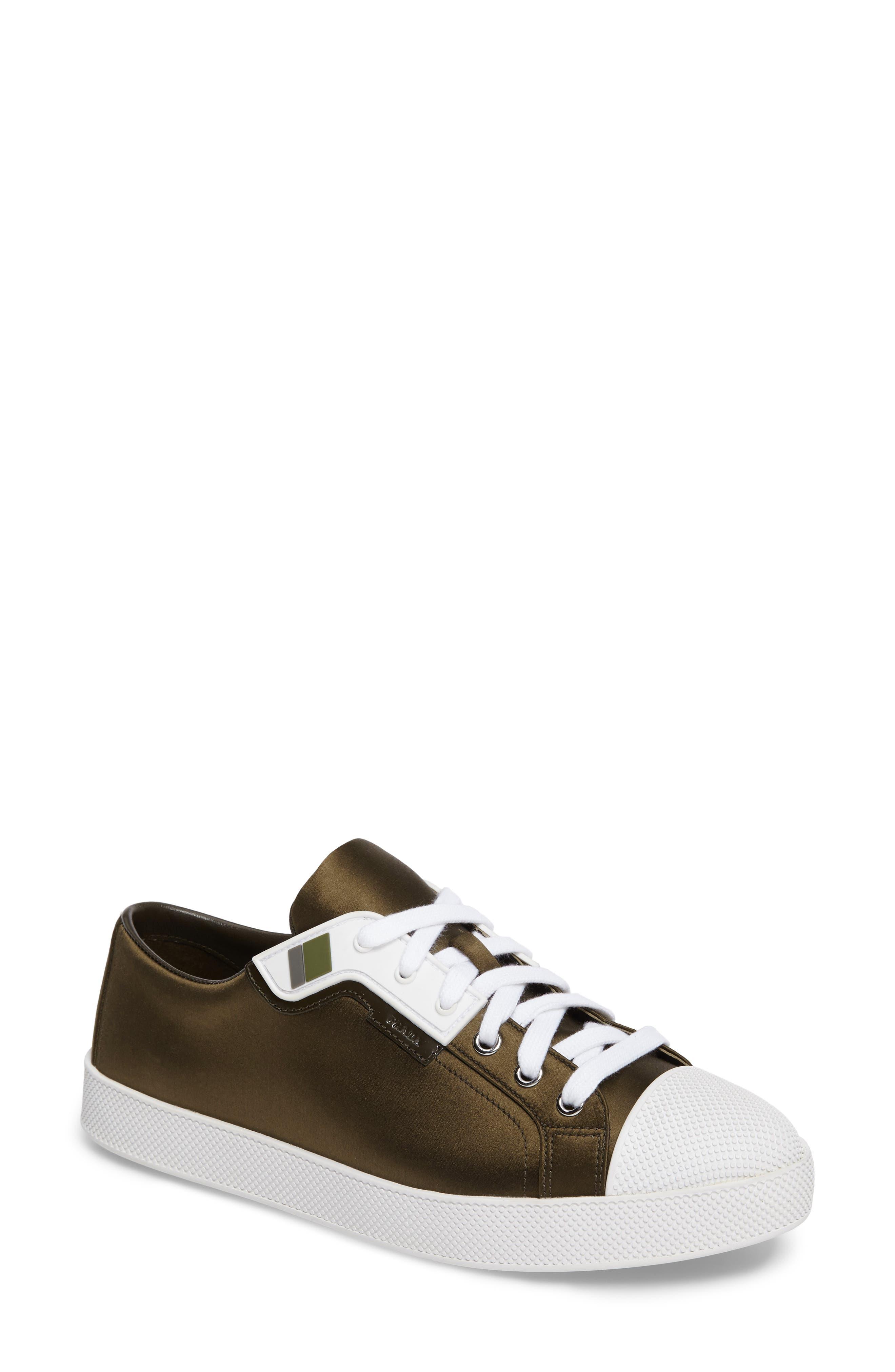 Prada Linea Rossa Platform Sneaker (Women)