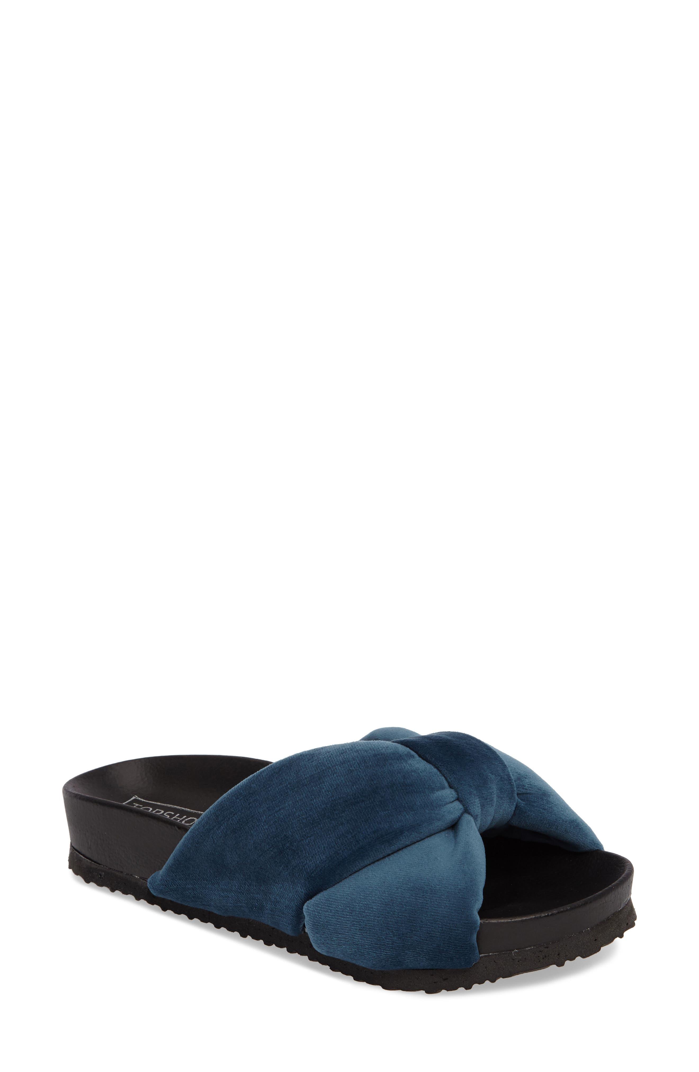 Alternate Image 1 Selected - Topshop Fly Knot Slide Sandal (Women)