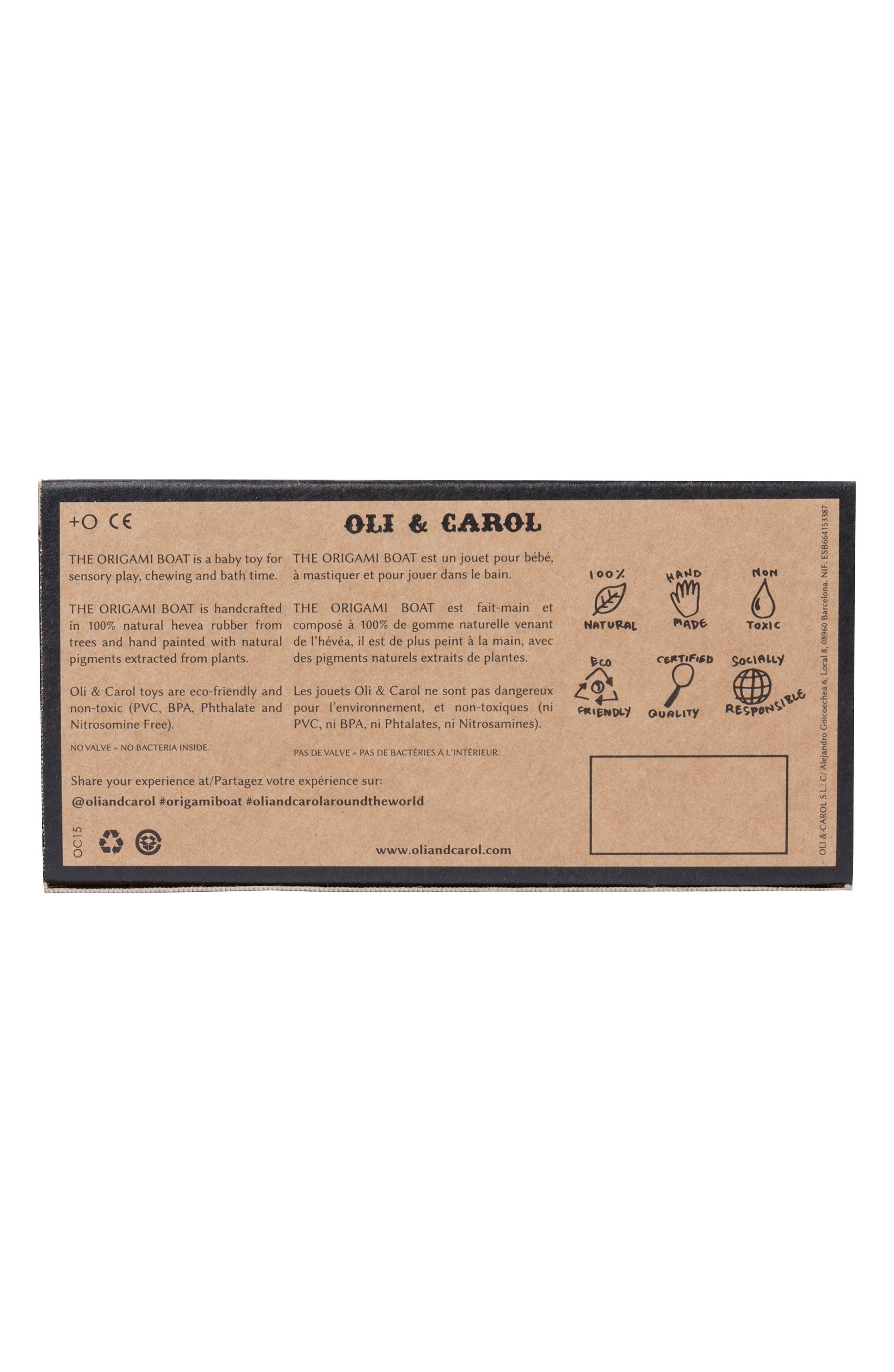 Alternate Image 6  - Oli & Carol Origami Boat Bath Toy