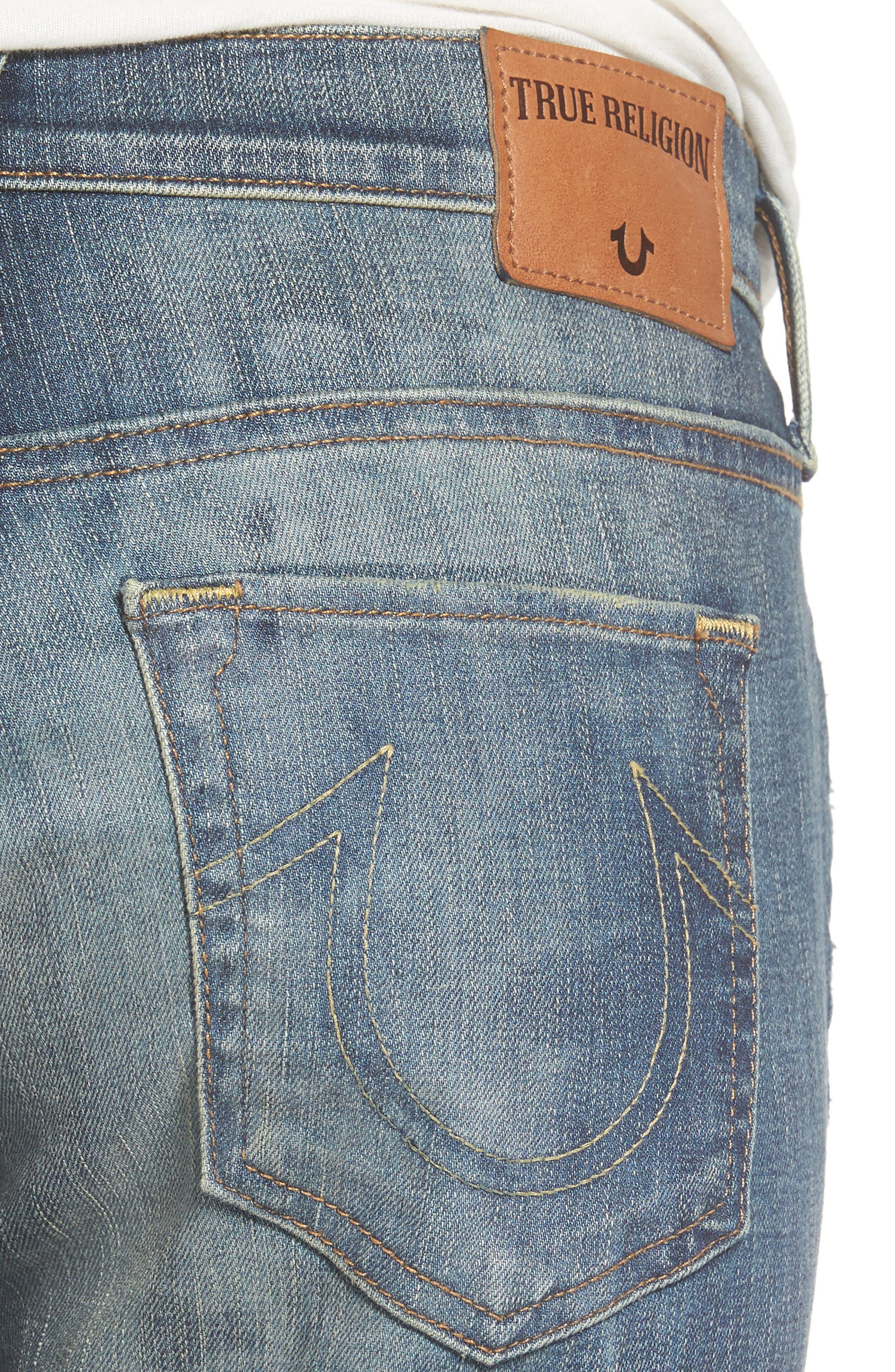 Alternate Image 4  - True Religion Brand Jeans Cameron Slim Boyfriend Jeans (Distillery)