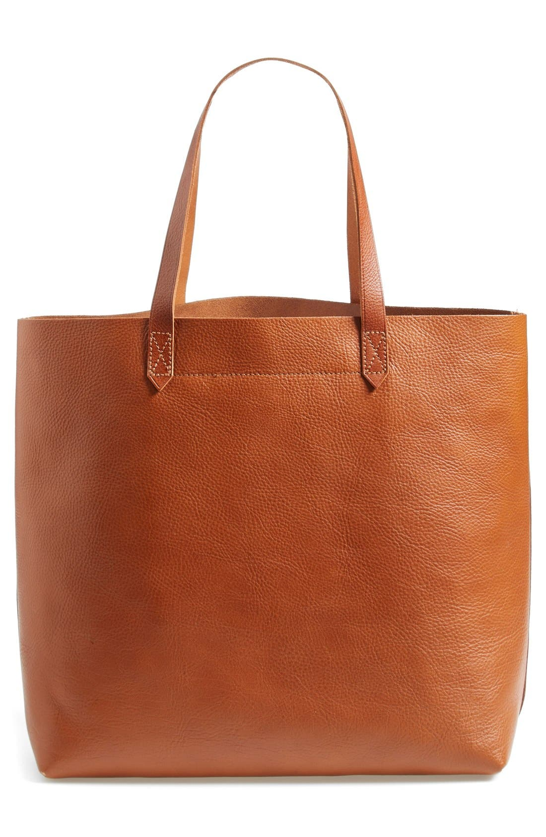 Alternate Image 1 Selected - Madewell 'The Transport' Leather Tote