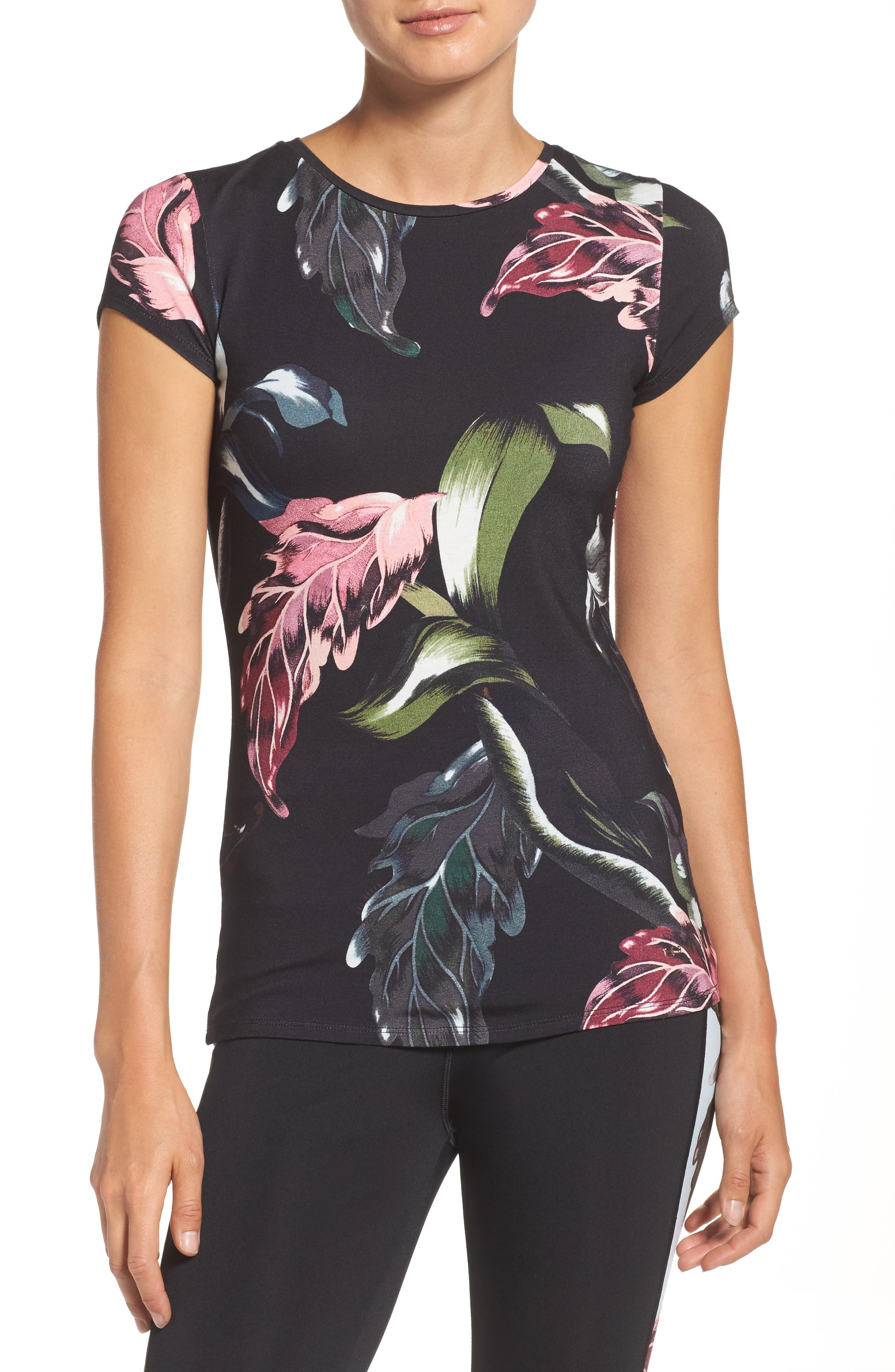 Main Image - Ted Baker London Eden Fitted Tee