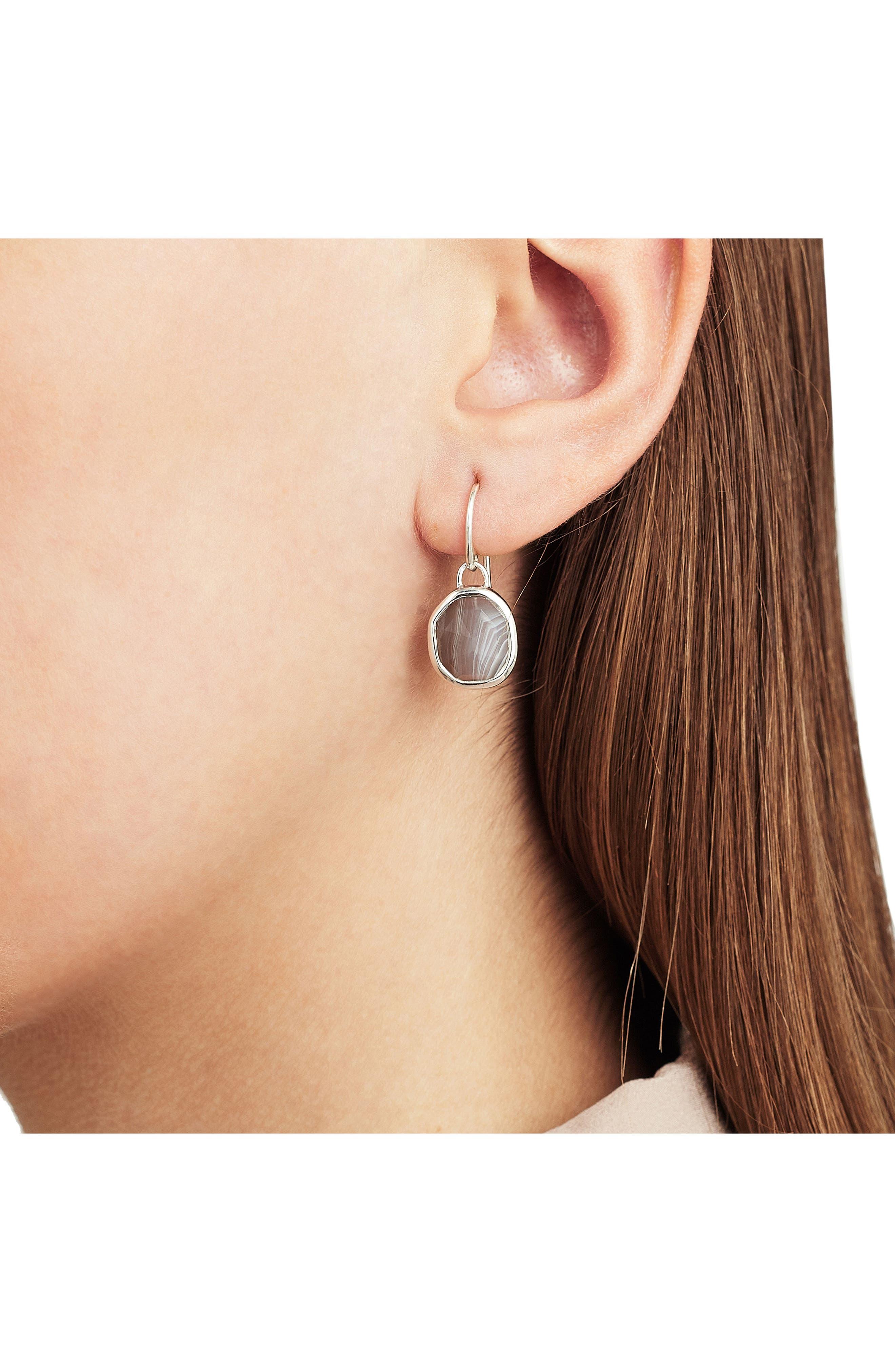 Alternate Image 2  - Monica Vinader Siren Semiprecious Stone Drop Earrings