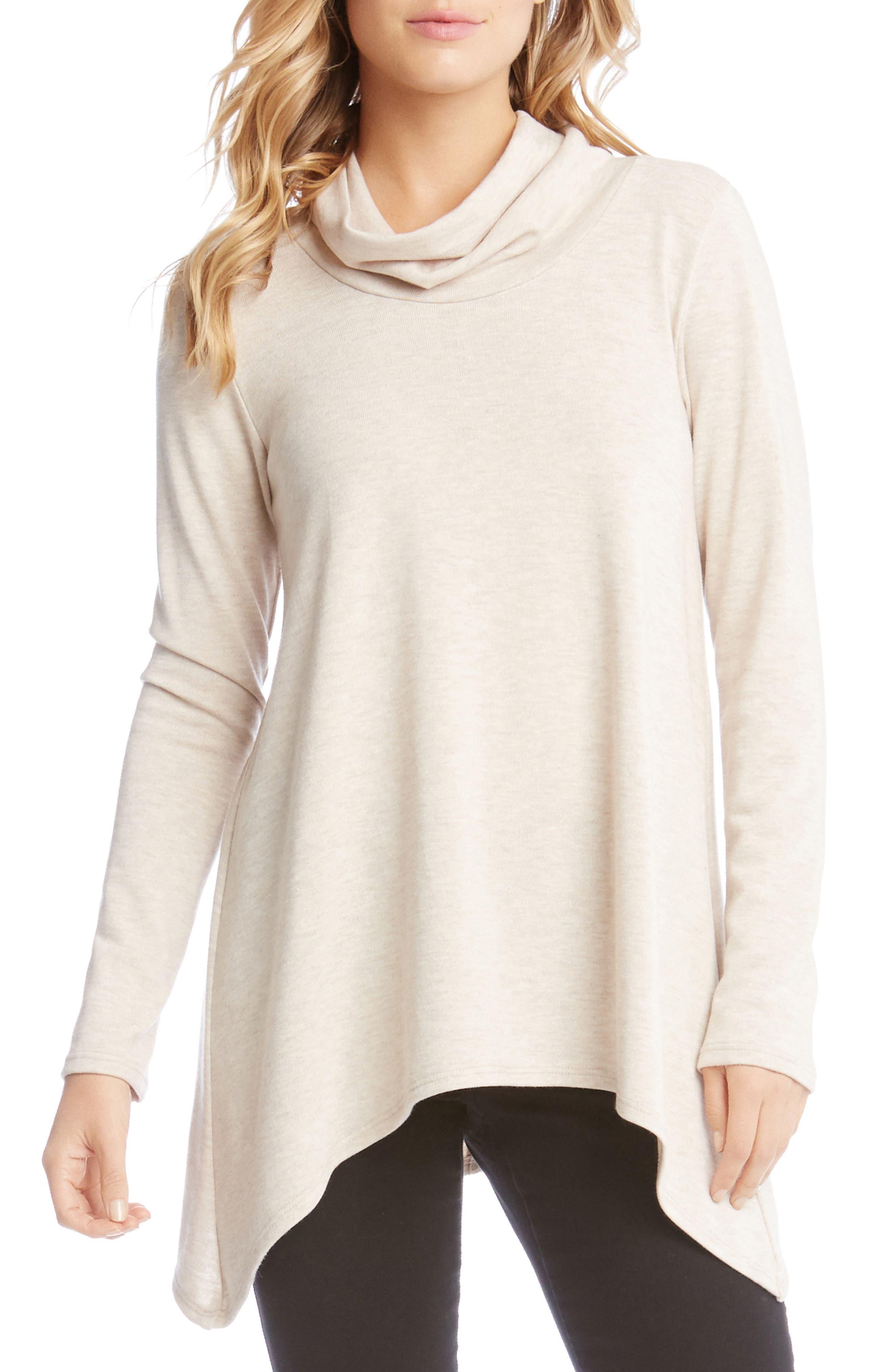 Karen Kane Curved Hem Sweater