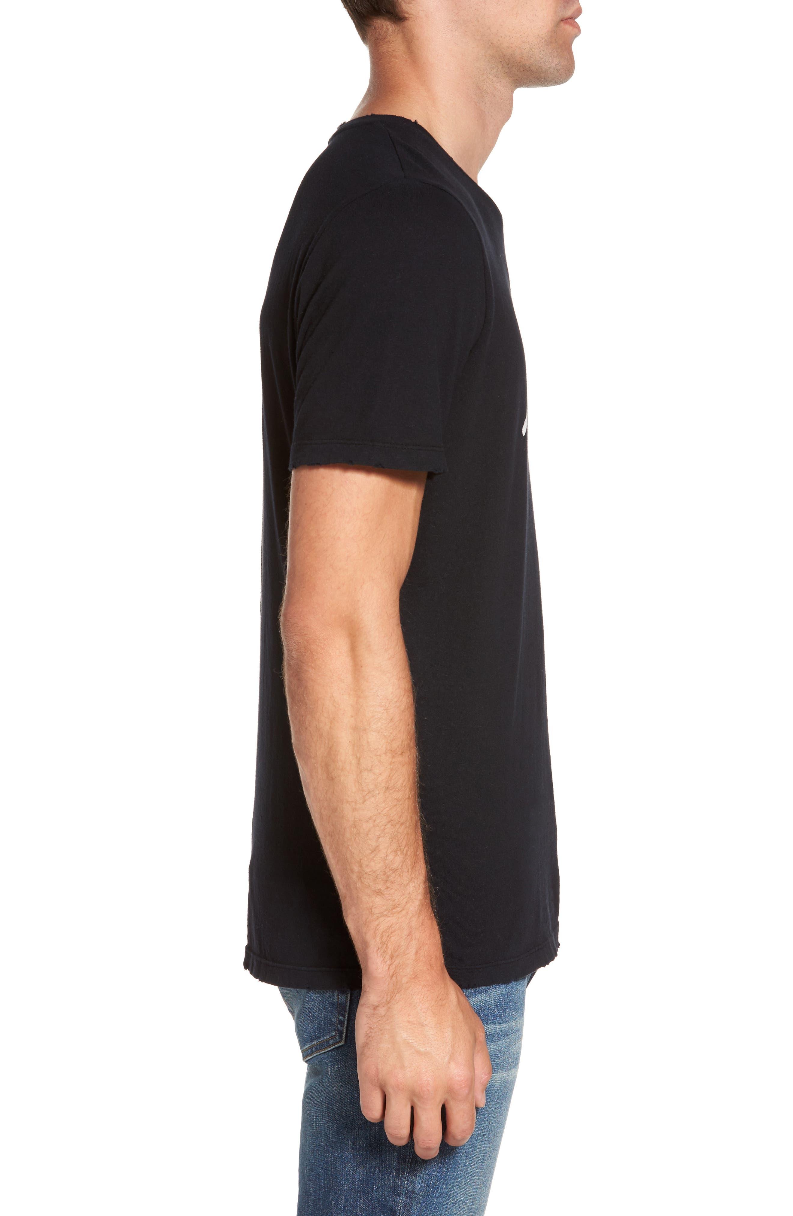 Bronco 3 T-Shirt,                             Alternate thumbnail 3, color,                             Noir