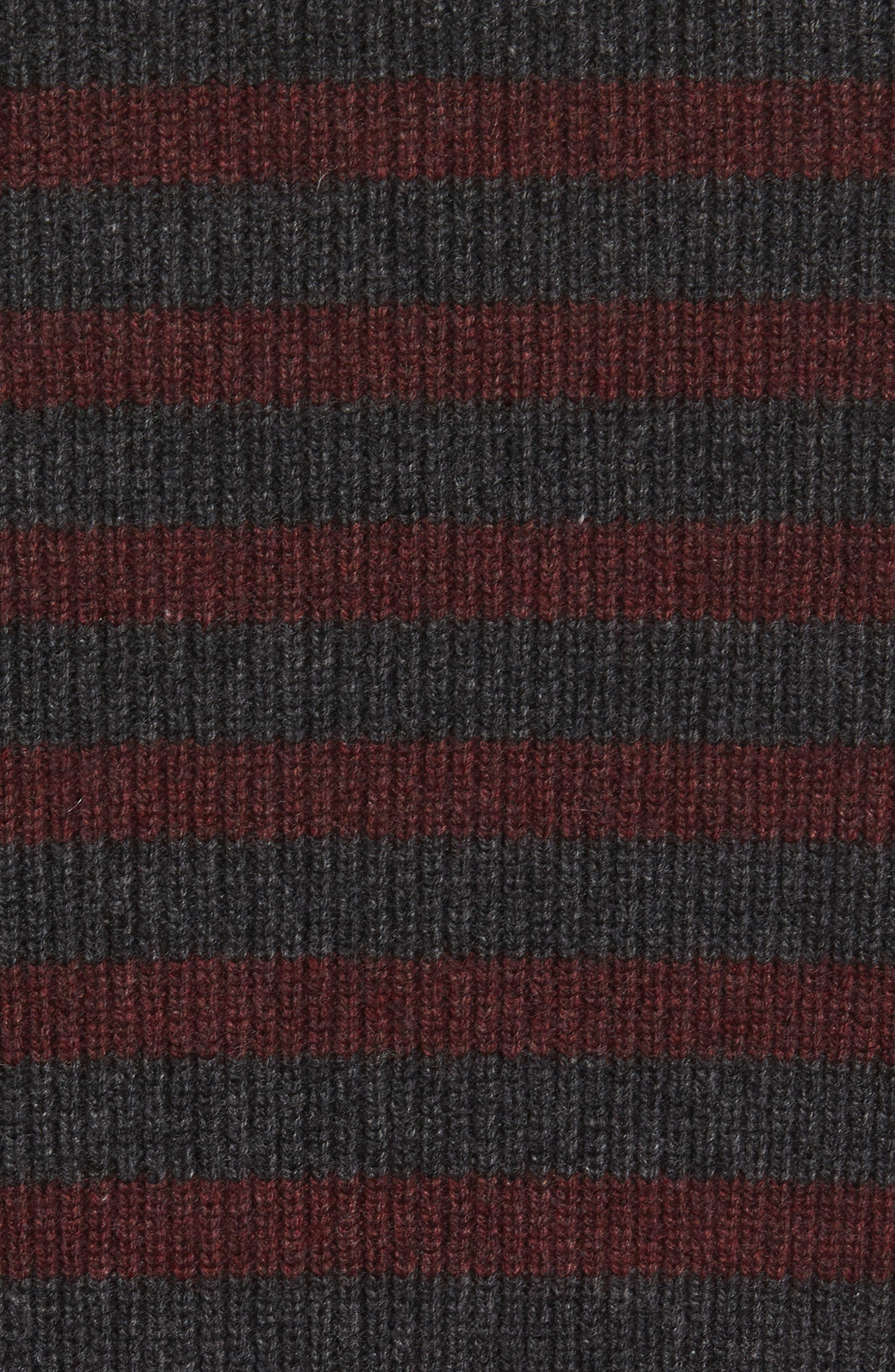 Alternate Image 6  - Vince Stripe Wool & Cashmere Sweater