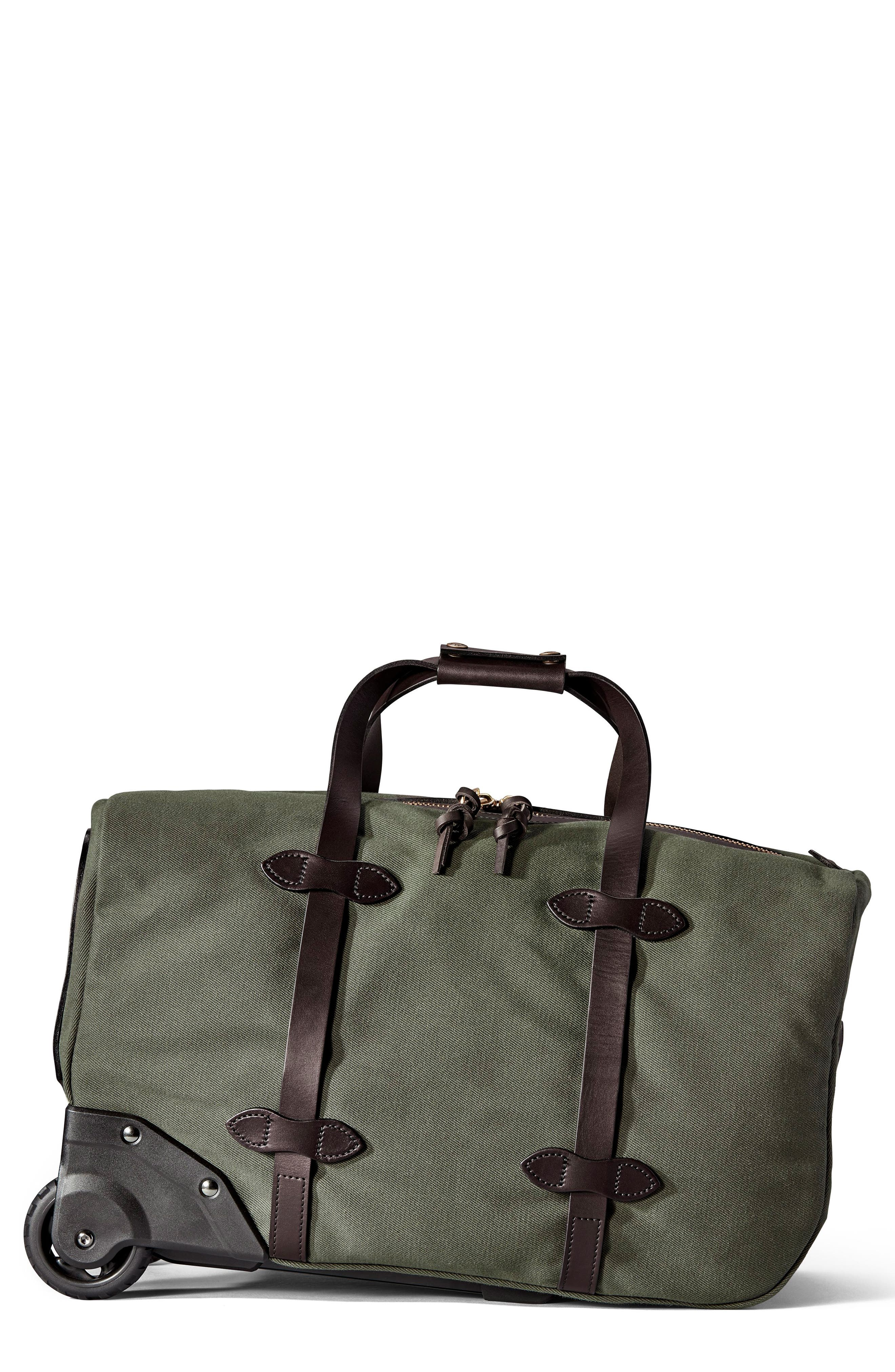 Filson Small Rolling Duffel Bag