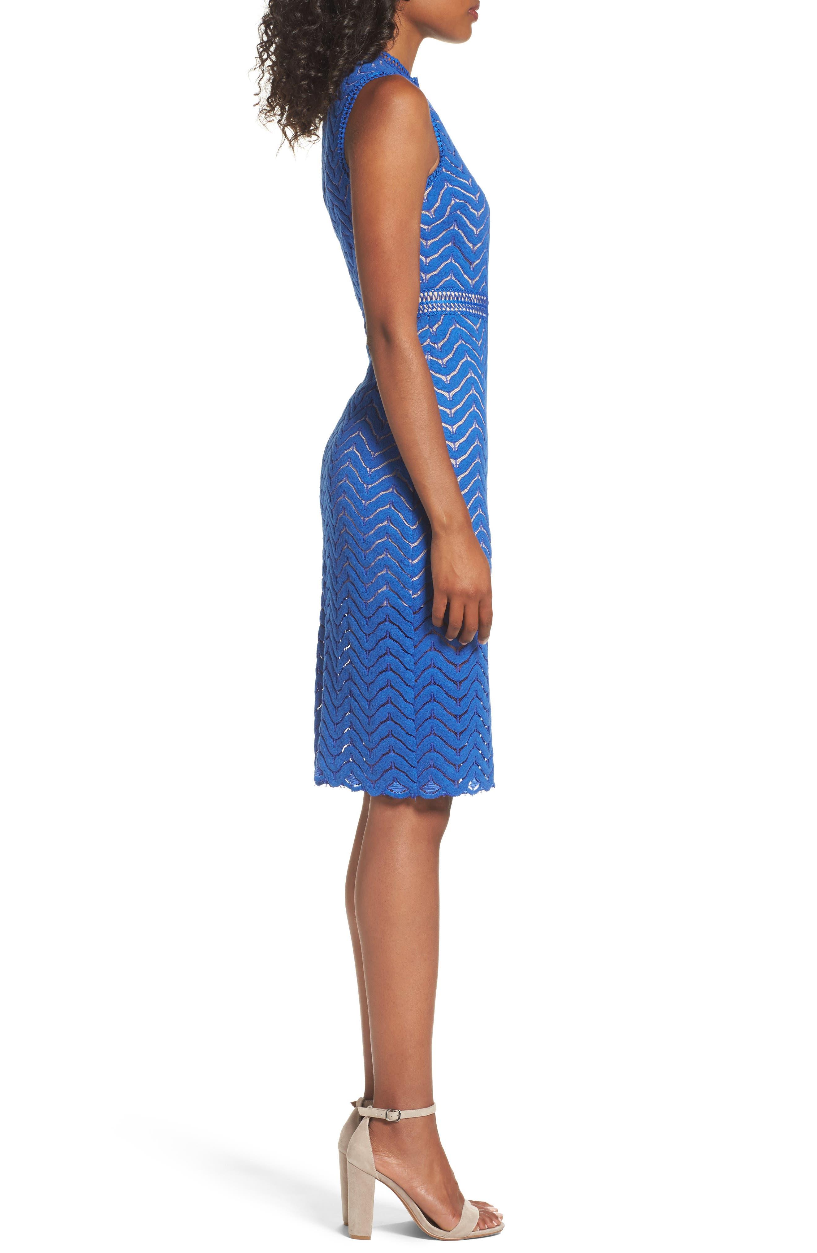 Alternate Image 3  - Chelsea28 Lace Sheath Dress