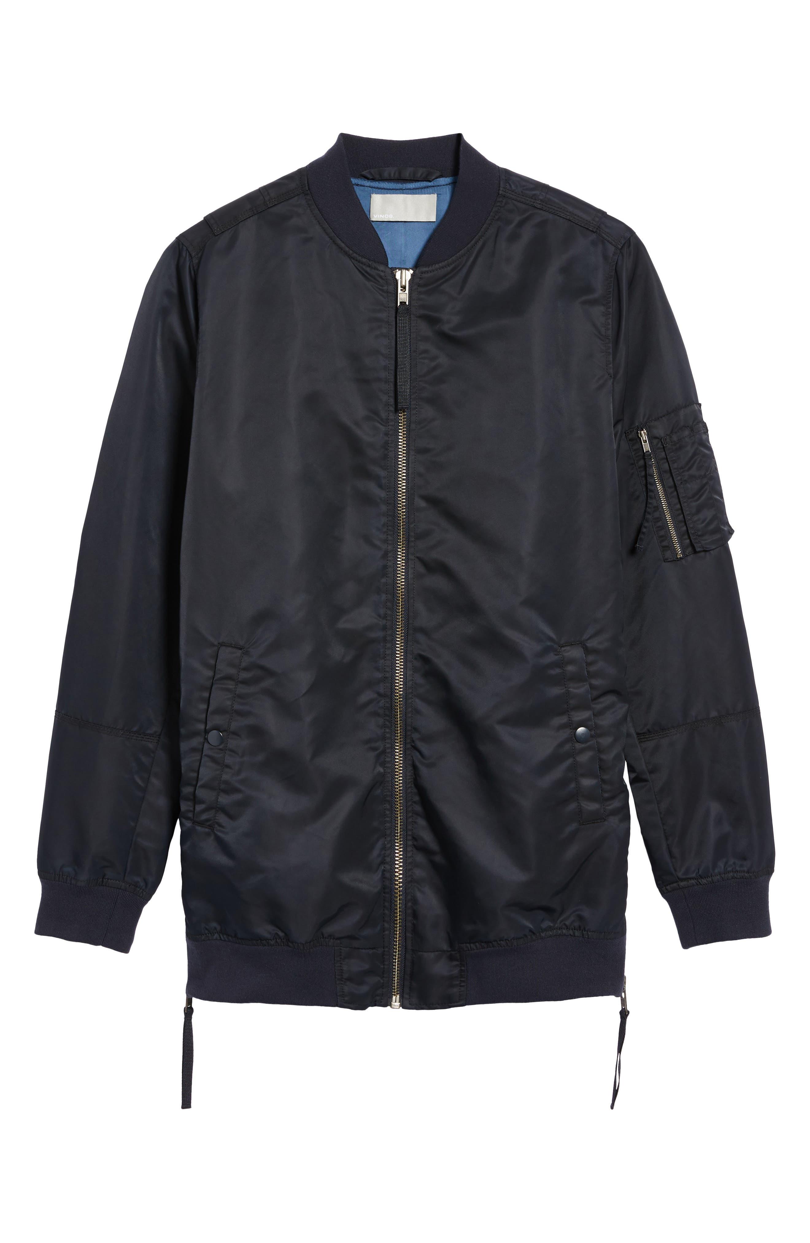 Alternate Image 5  - Vince Longline Aviator Jacket