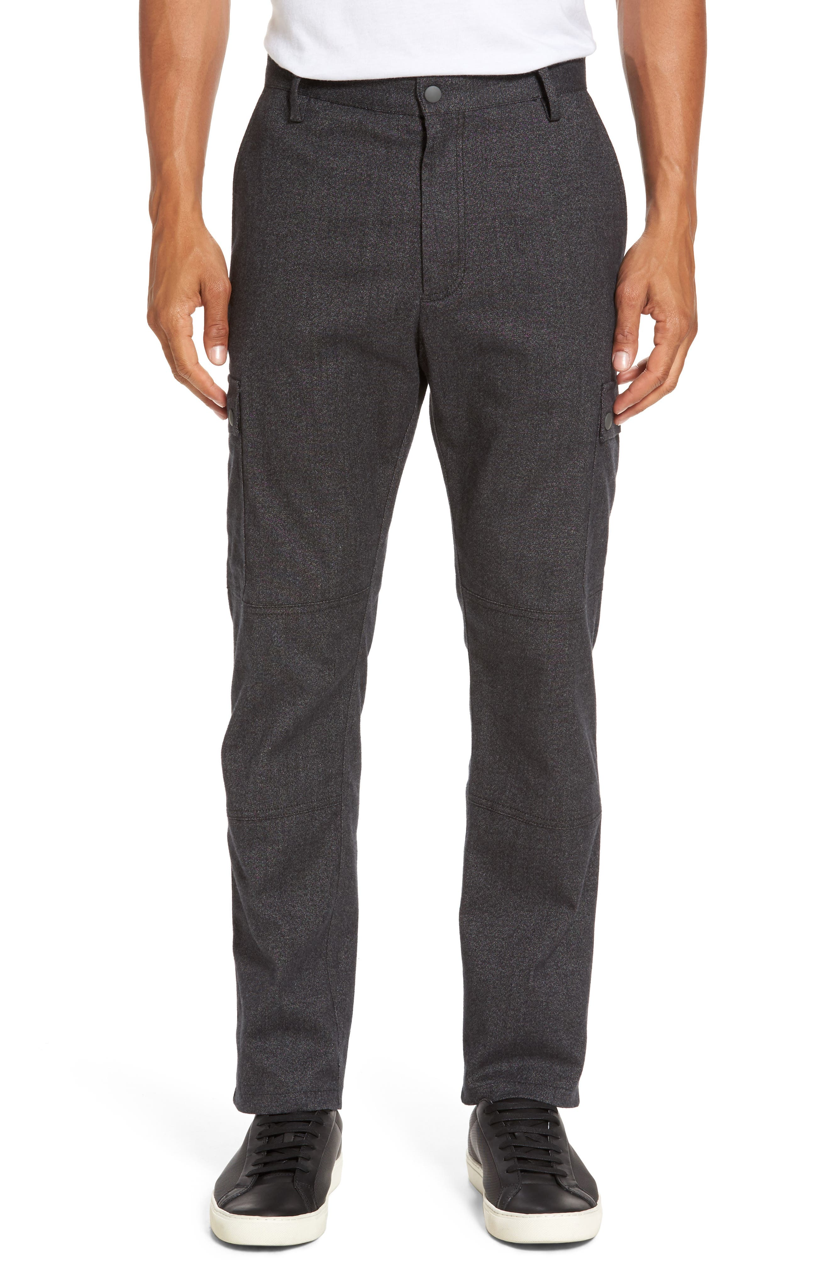 Rainer Cargo Pants,                         Main,                         color, Dark Grey