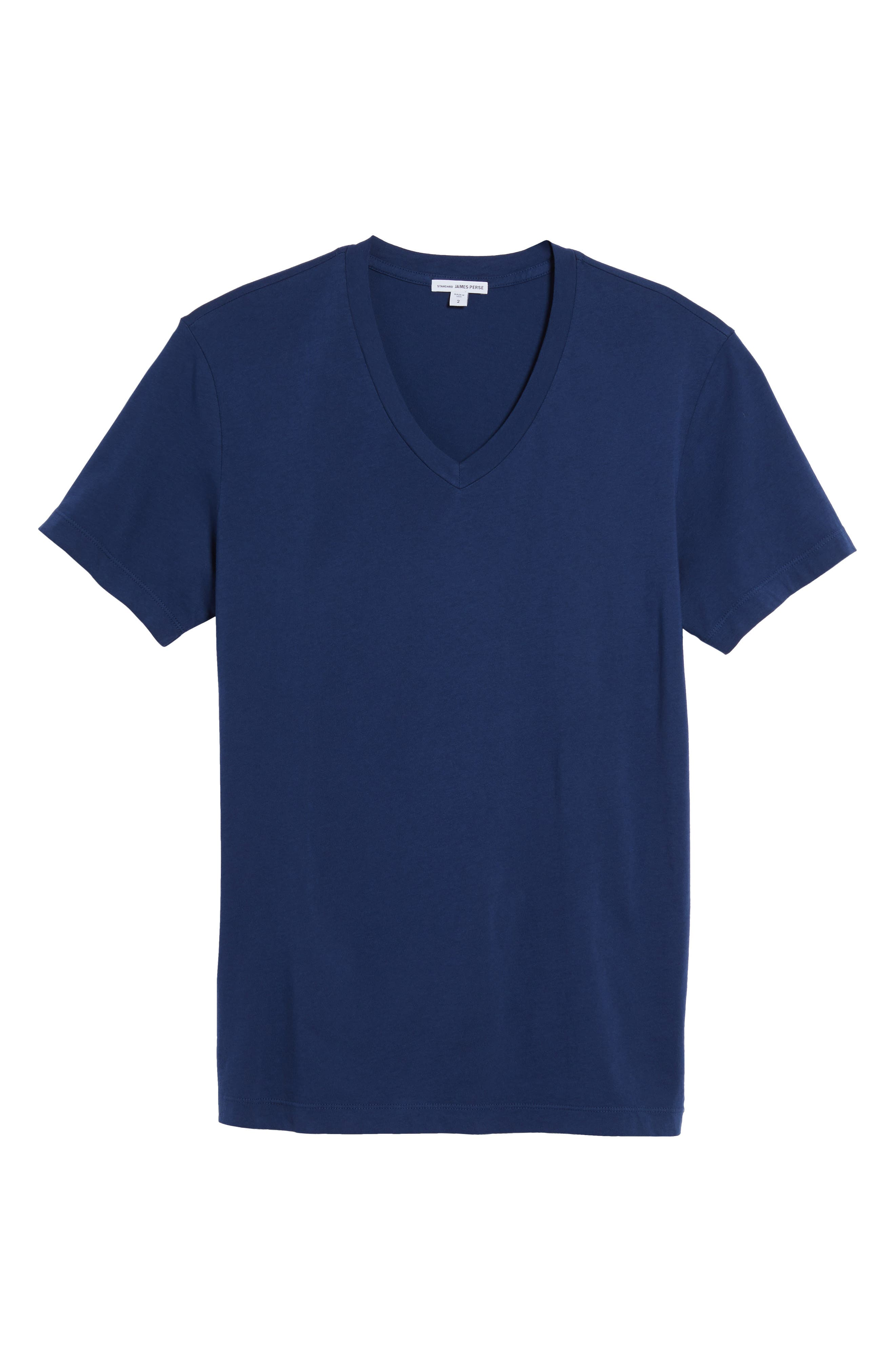 Alternate Image 6  - James Perse Short Sleeve V-Neck T-Shirt