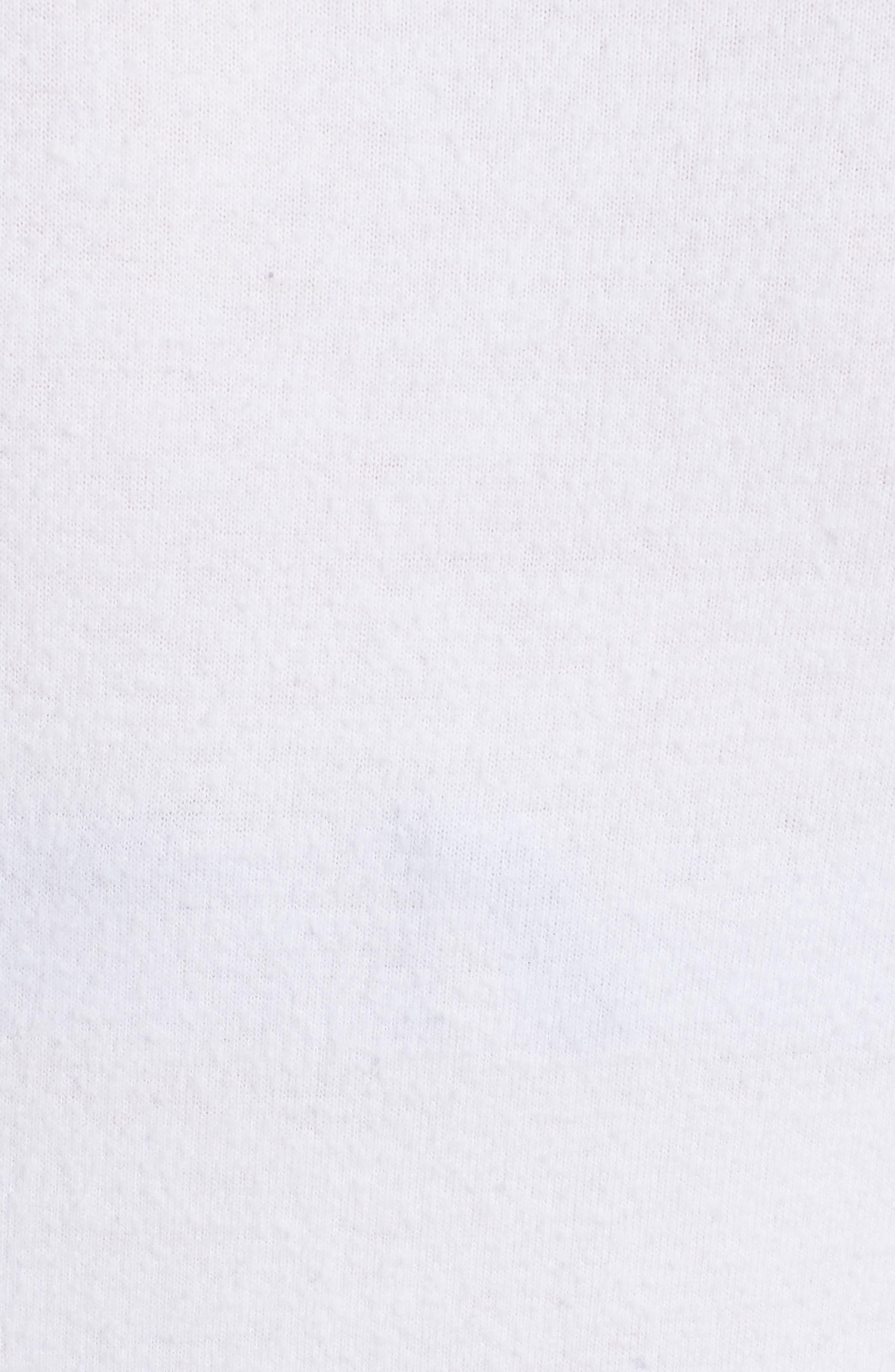 Peace Sweatshirt,                             Alternate thumbnail 5, color,                             White