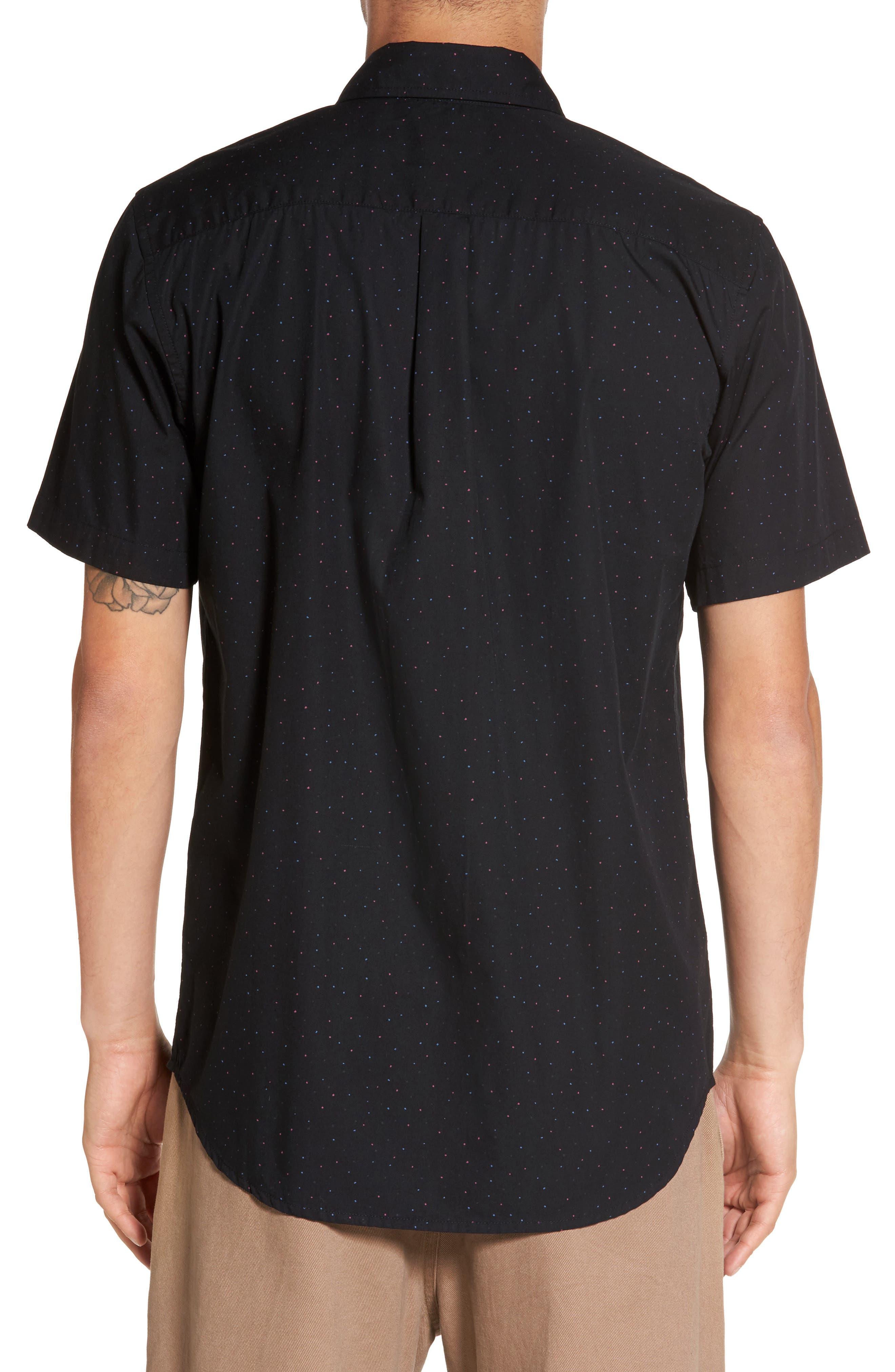 Alternate Image 2  - Obey Voyage Flecked Woven Shirt
