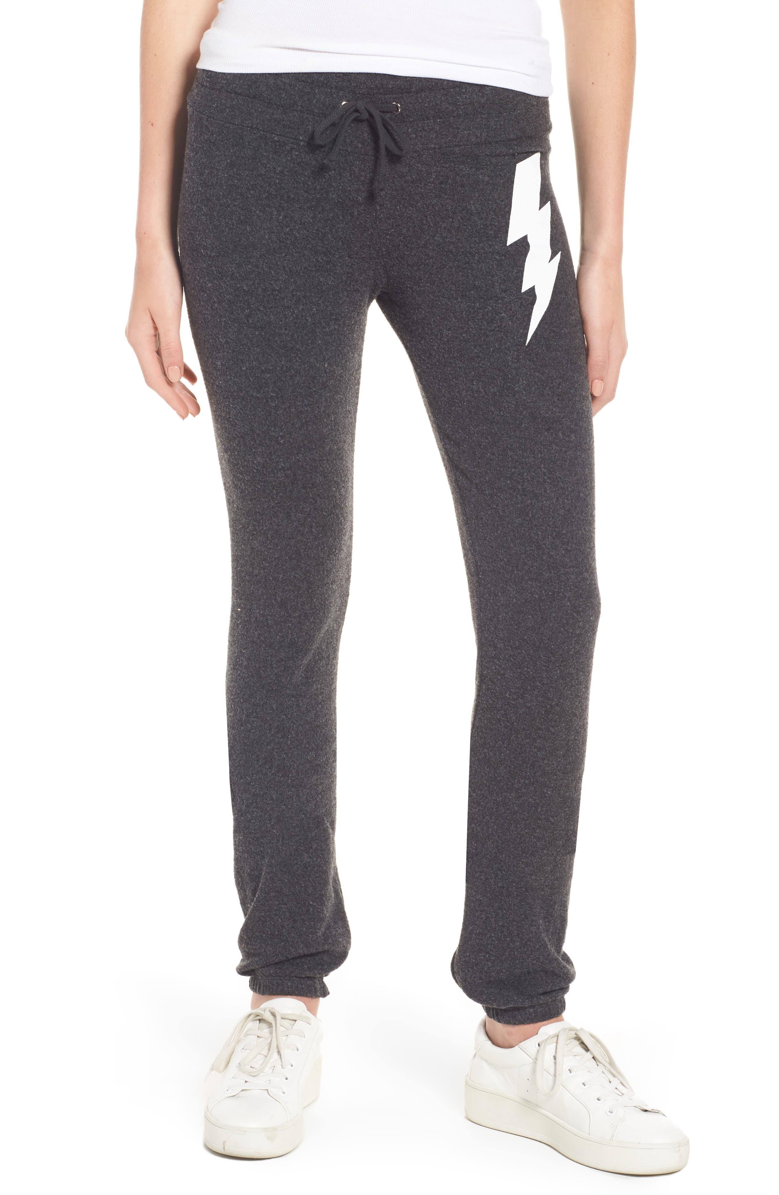 Girl Power Skinny Pants,                         Main,                         color, Black