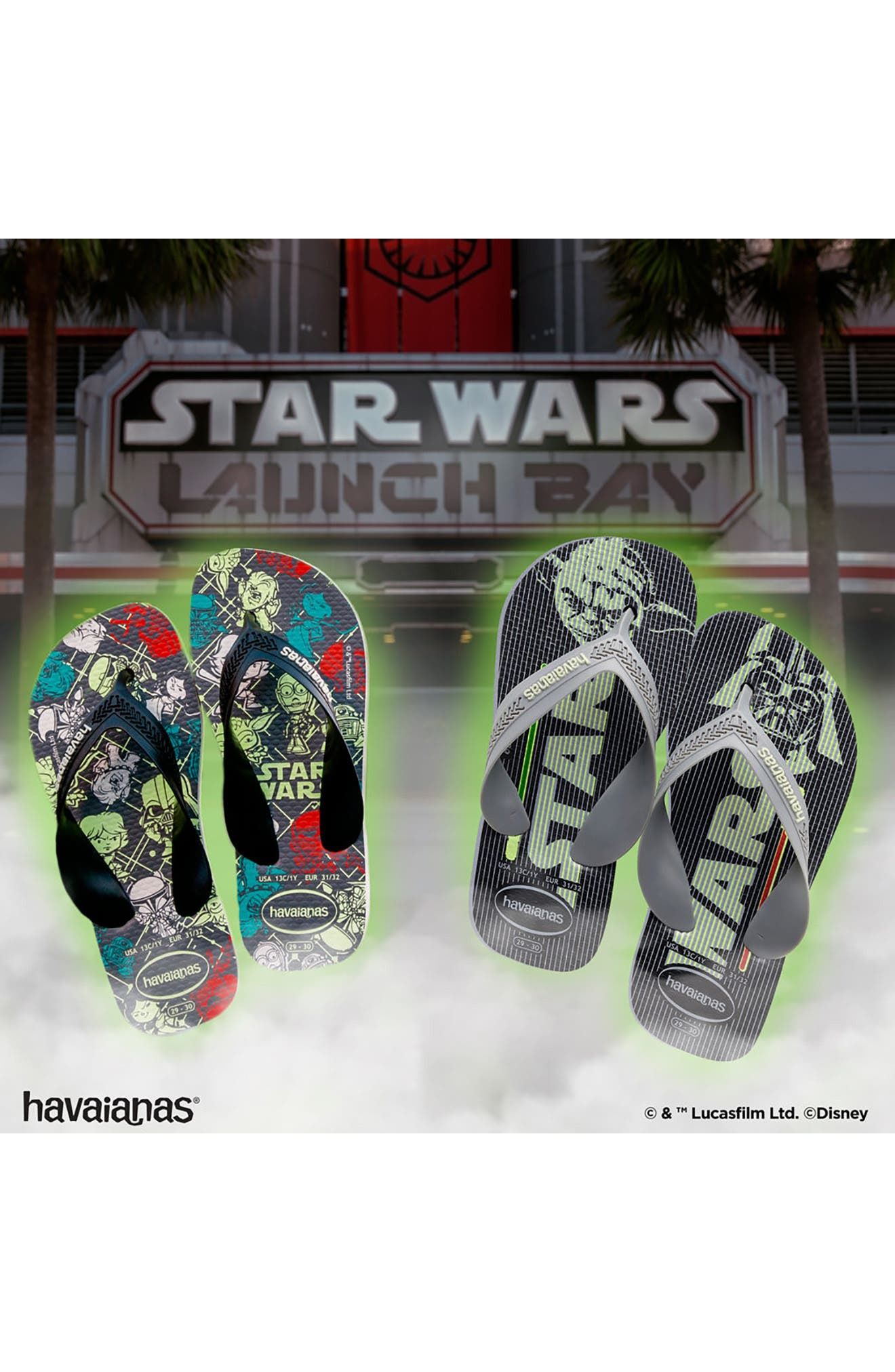 Max Star Wars Flip Flop,                             Alternate thumbnail 7, color,