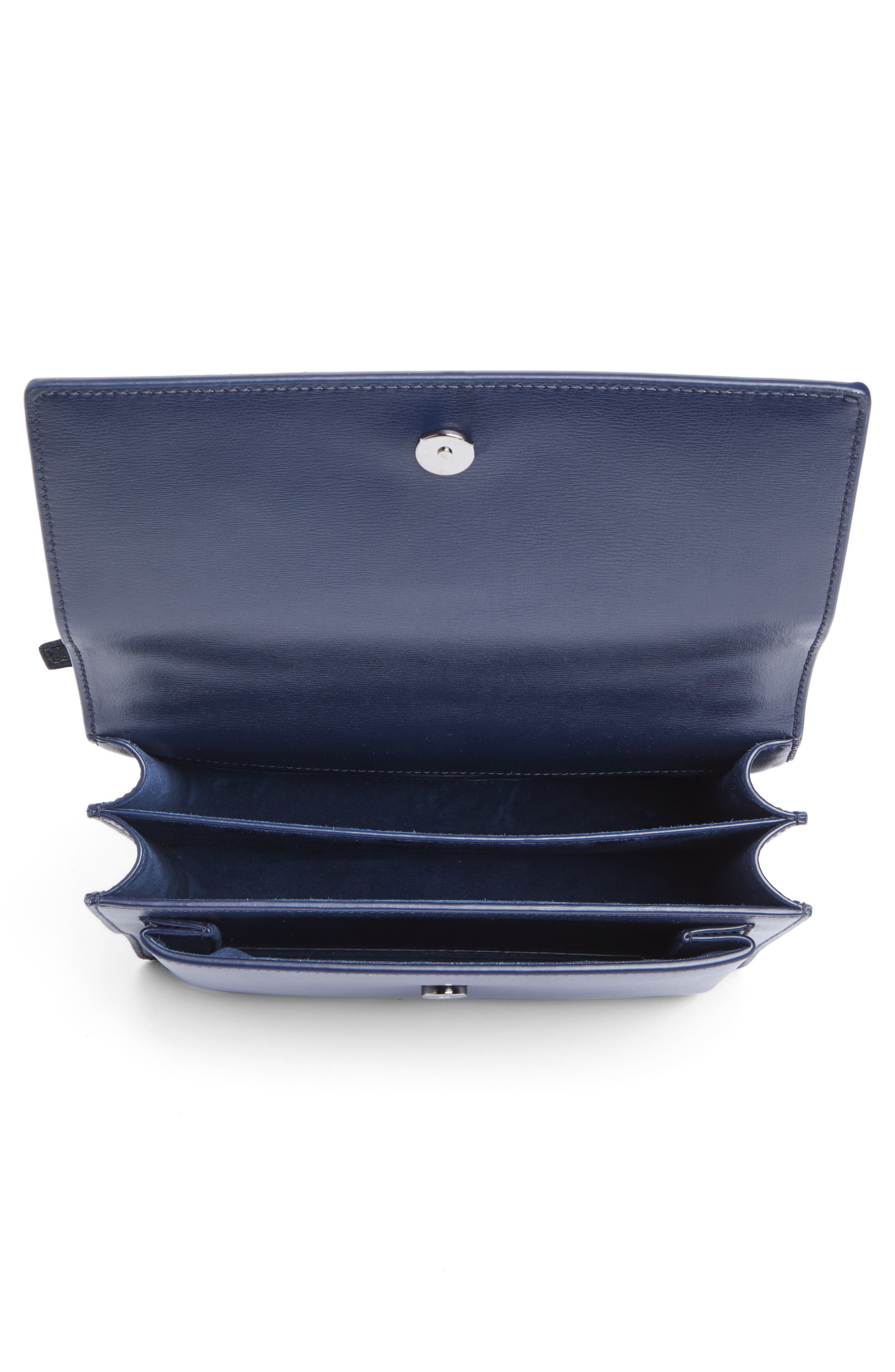 Alternate Image 4  - Saint Laurent Medium Sunset Leather & Suede Shoulder Bag
