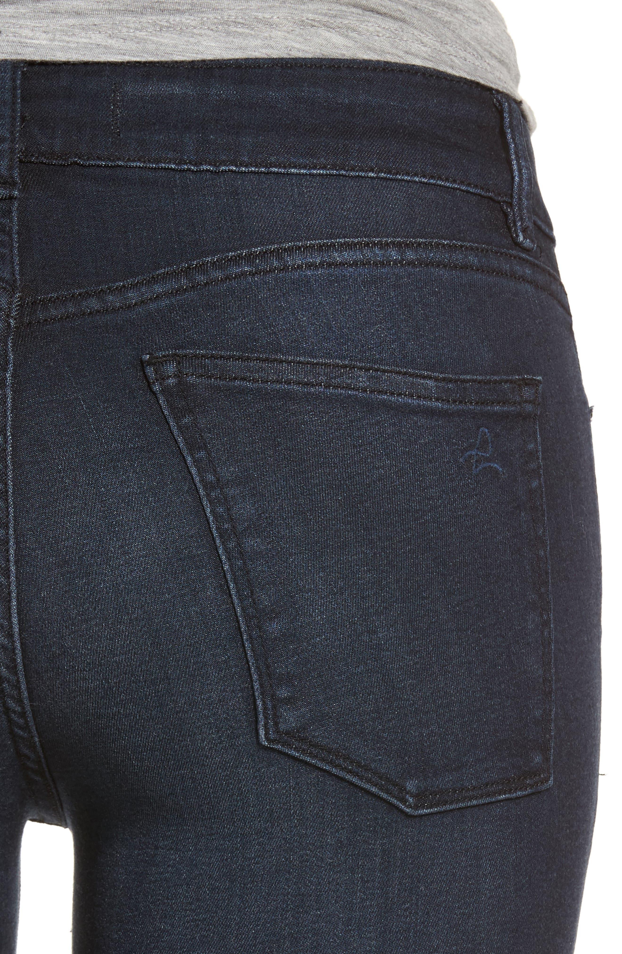 Emma Power Legging Skinny Jeans,                             Alternate thumbnail 4, color,                             Macon