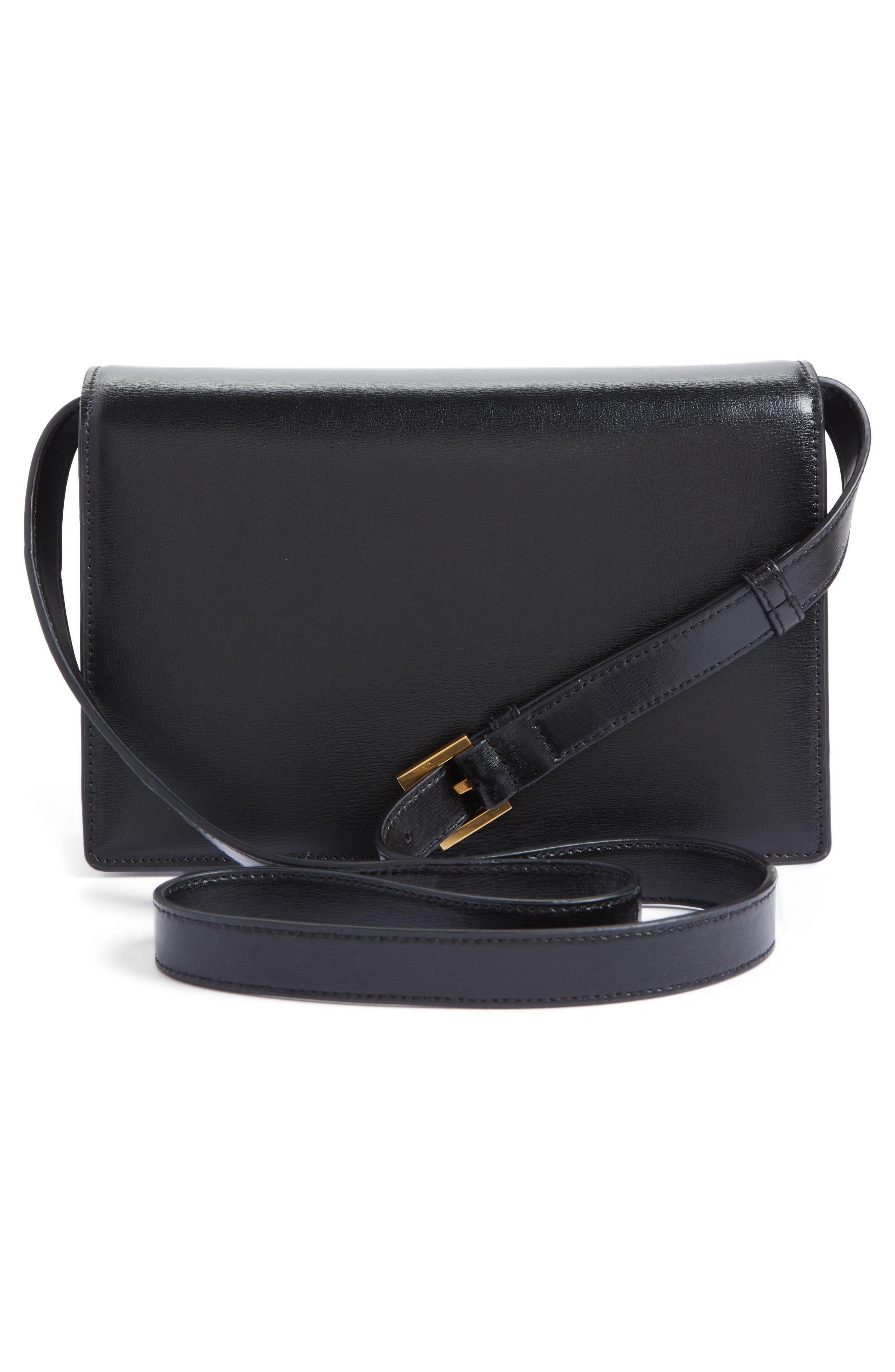 Alternate Image 3  - Saint Laurent Medium Bellechasse Suede & Leather Shoulder Bag