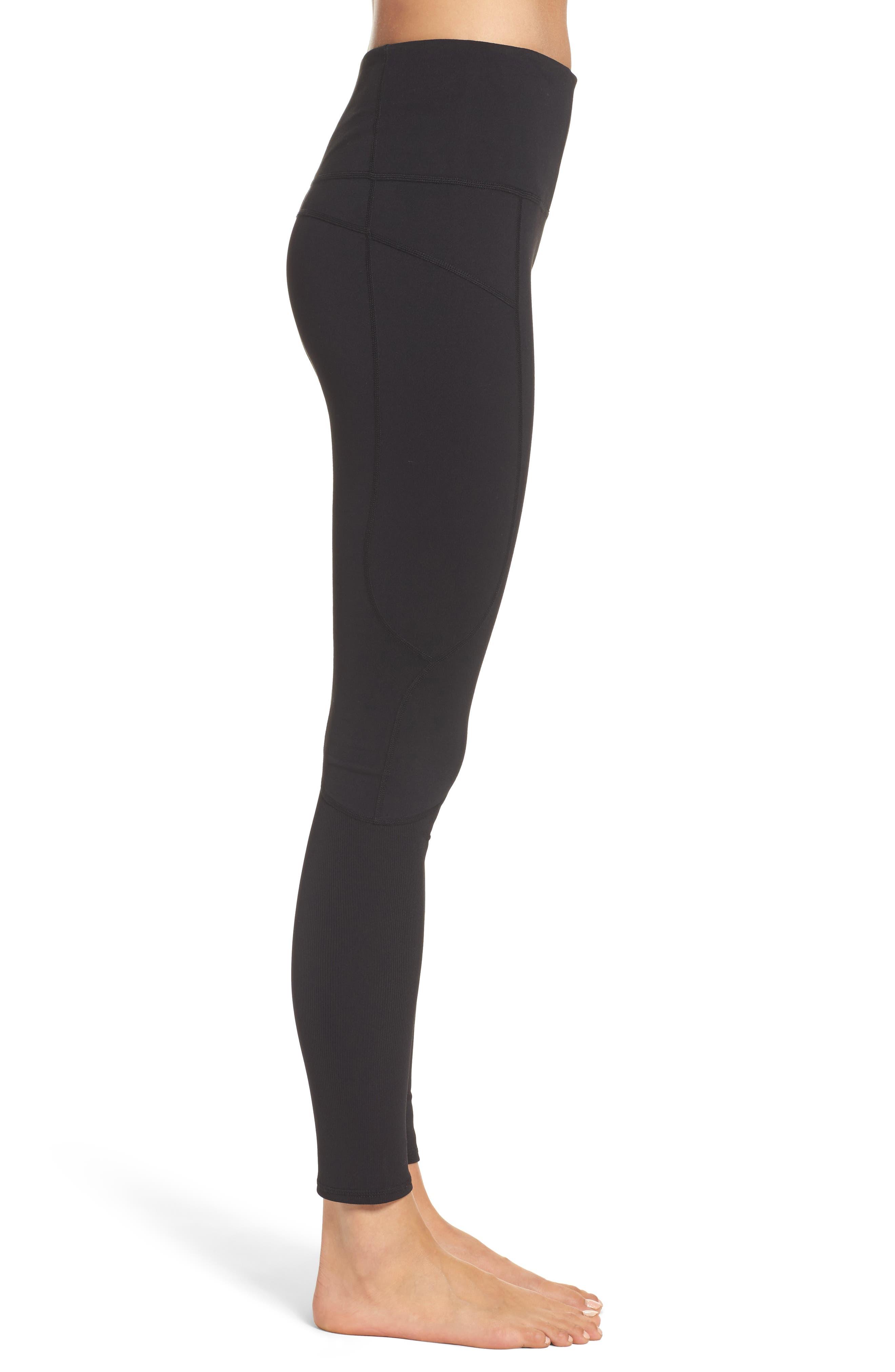 Alternate Image 3  - Zella Double Dare High Waist Leggings