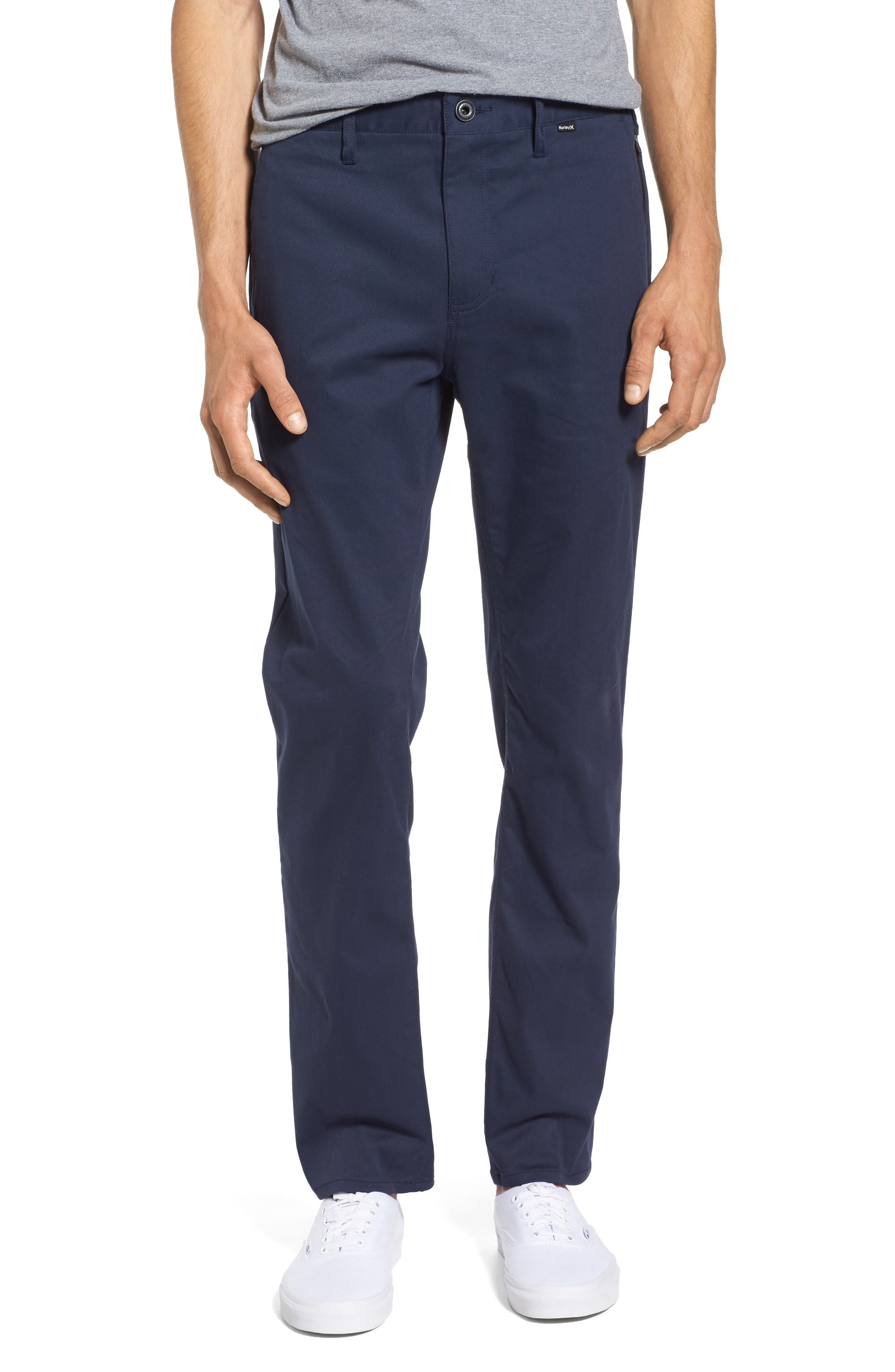 Dri-FIT Chinos,                         Main,                         color, Obsidian