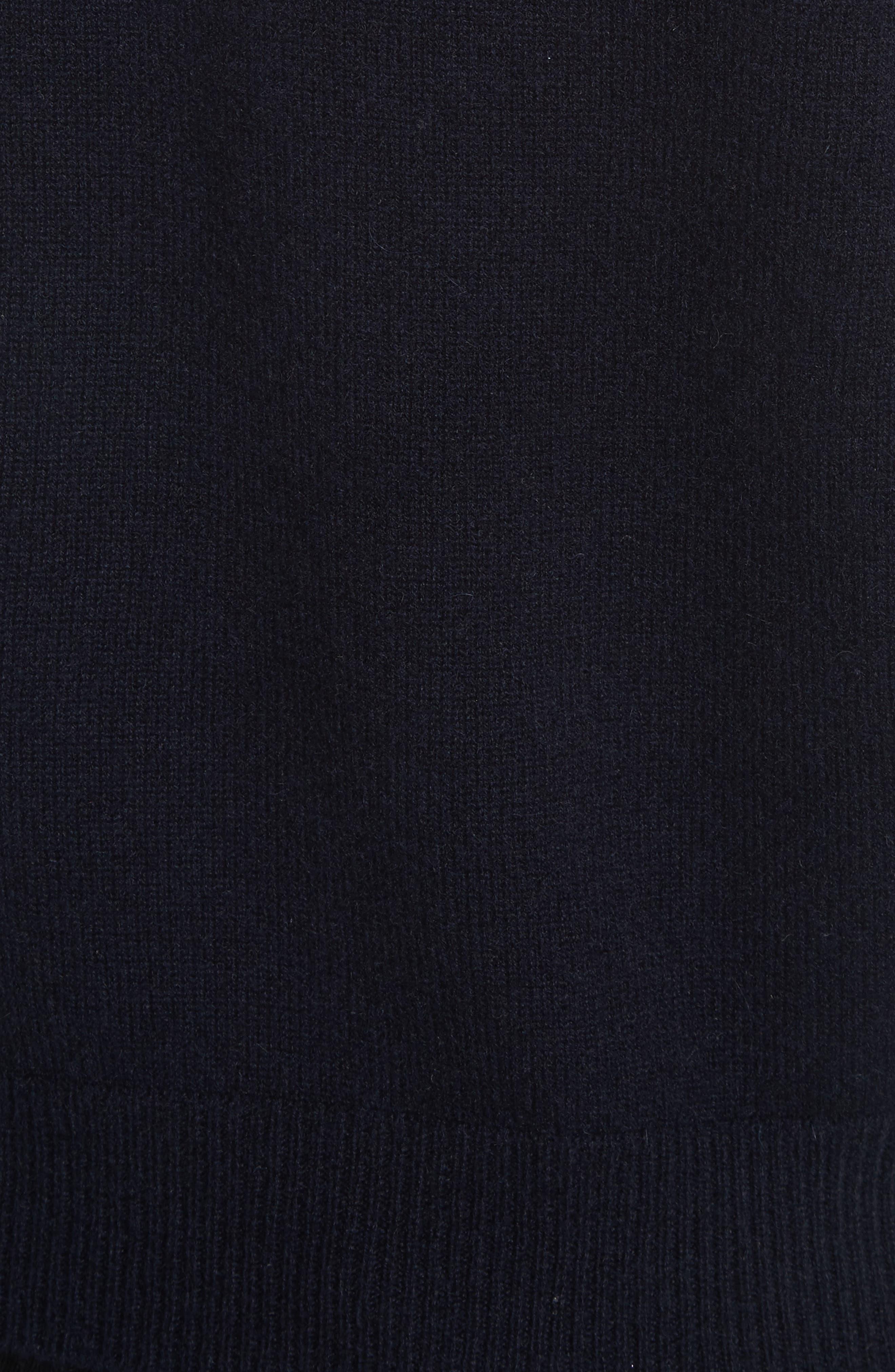 Alternate Image 6  - Vince Saddle Cashmere Turtleneck