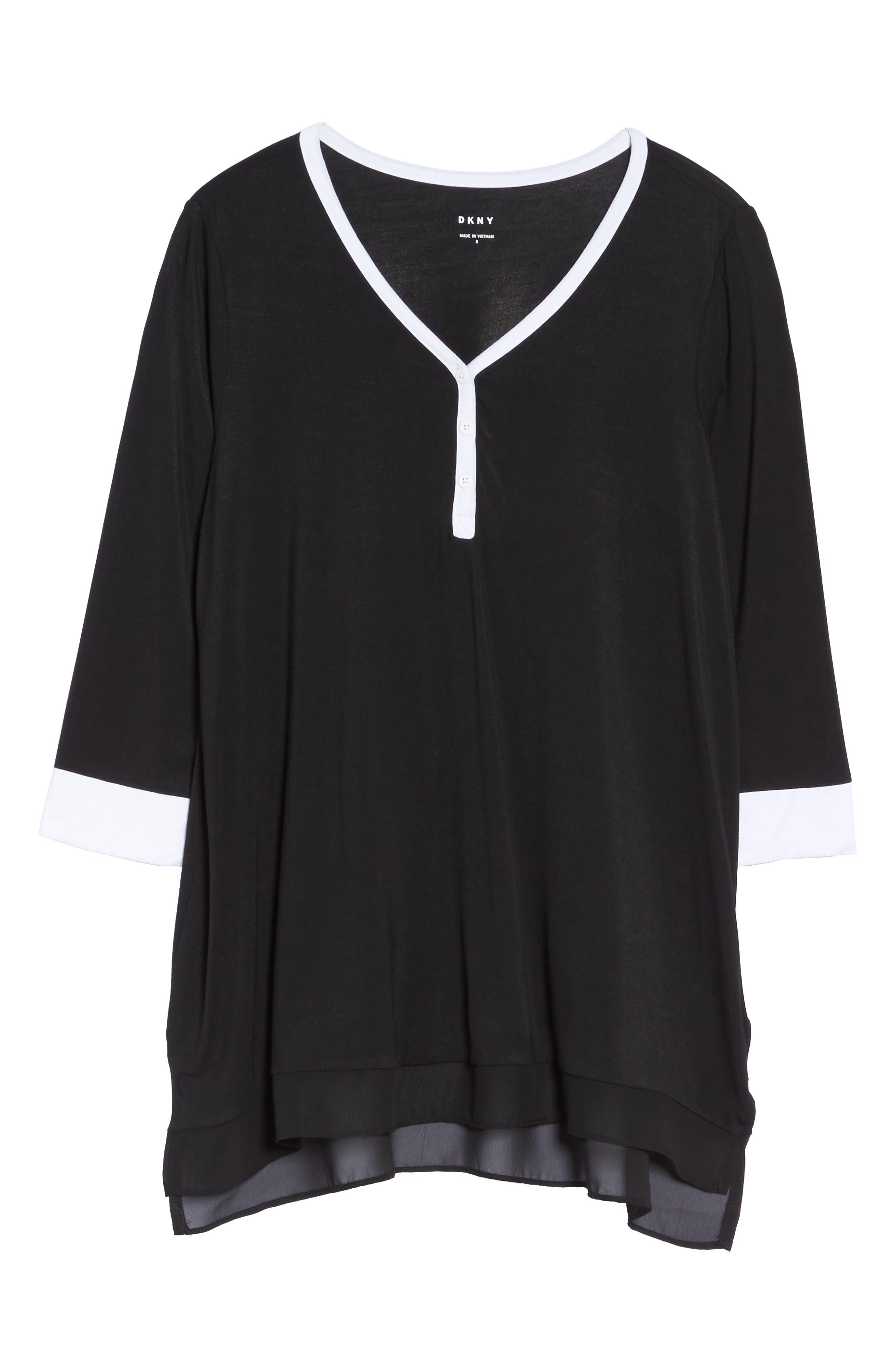 Alternate Image 4  - DKNY Pajama Top