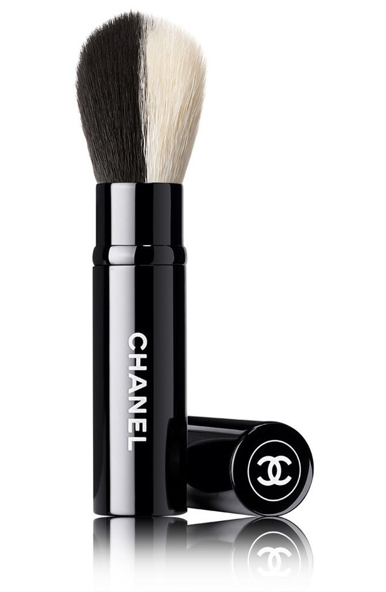 Alternate Image 1 Selected - CHANEL RETRACTABLE DUAL-HEAD Face Brush