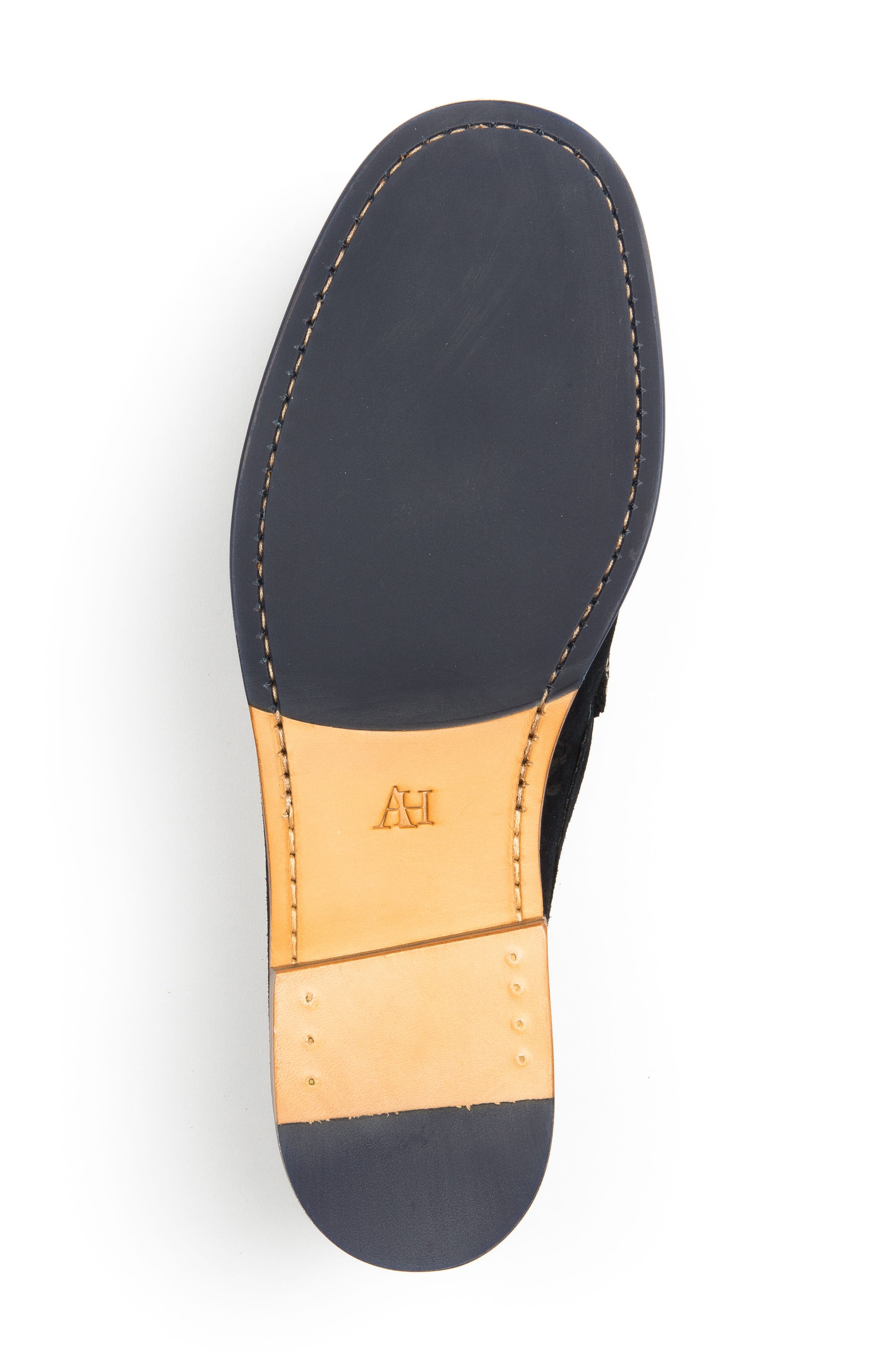 Ripleys Penny Loafer,                             Alternate thumbnail 6, color,                             Navy Suede