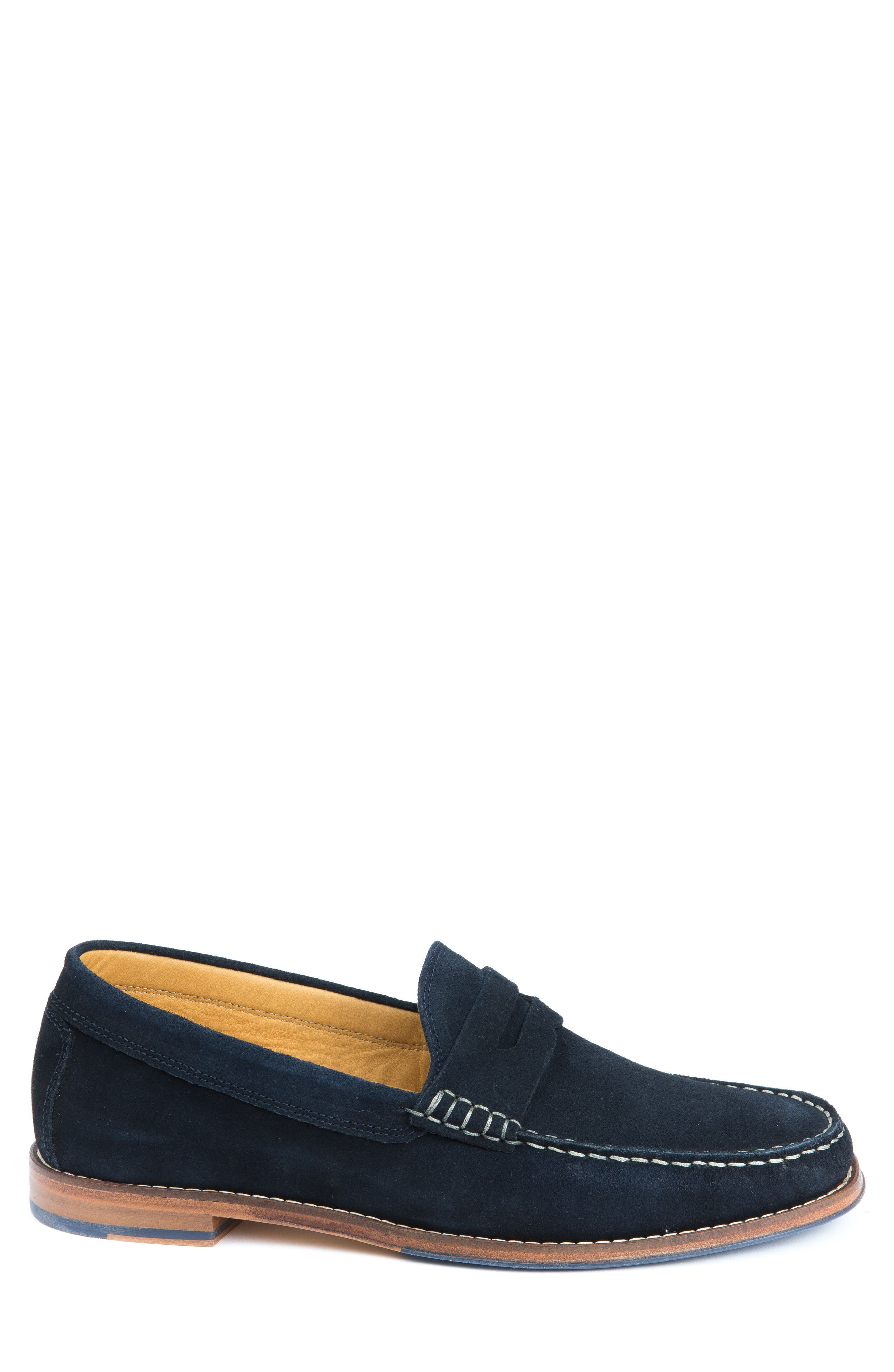 Ripleys Penny Loafer,                             Alternate thumbnail 3, color,                             Navy Suede