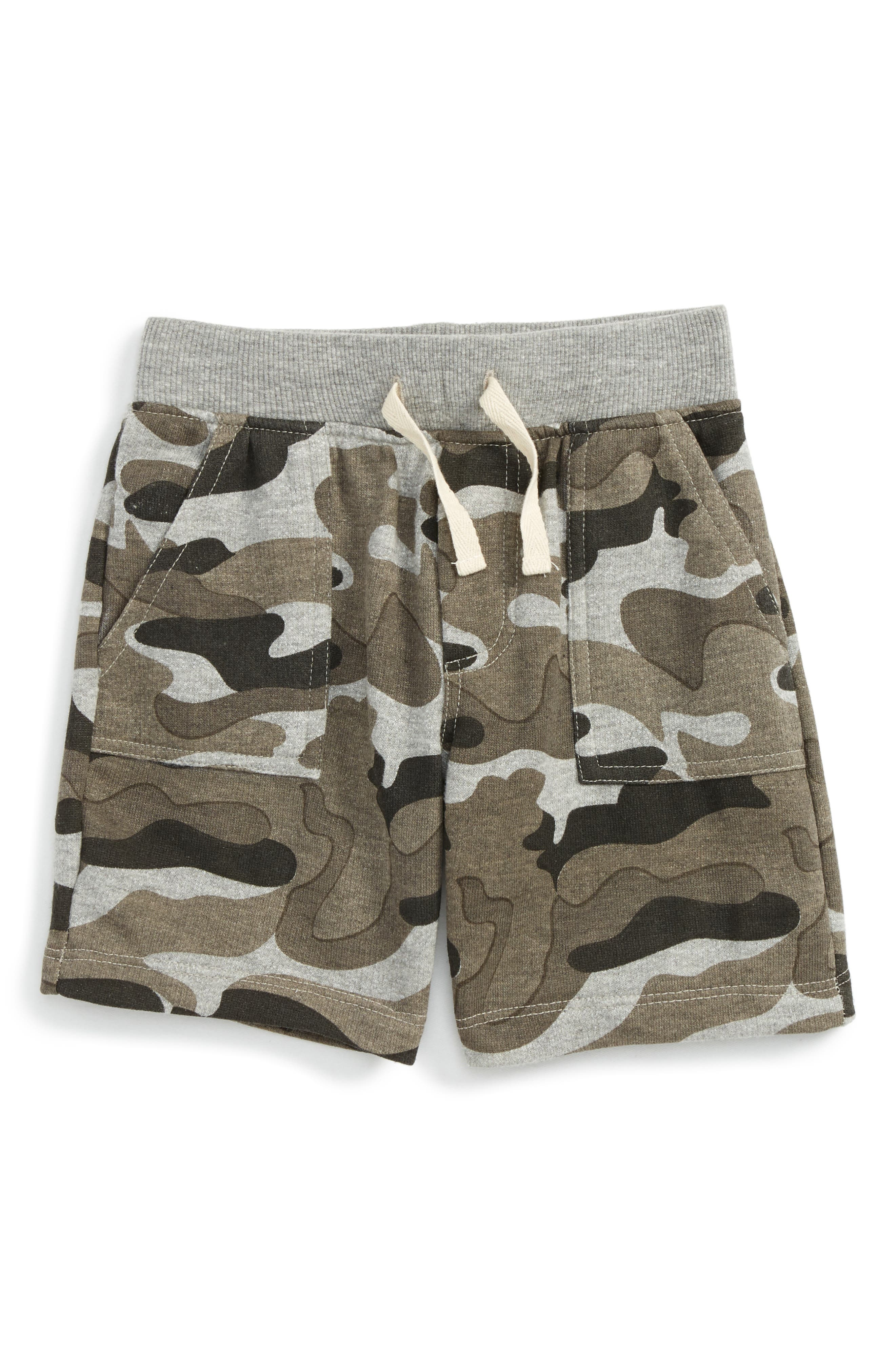 Stephen Camo Shorts,                             Main thumbnail 1, color,                             Grey Camo