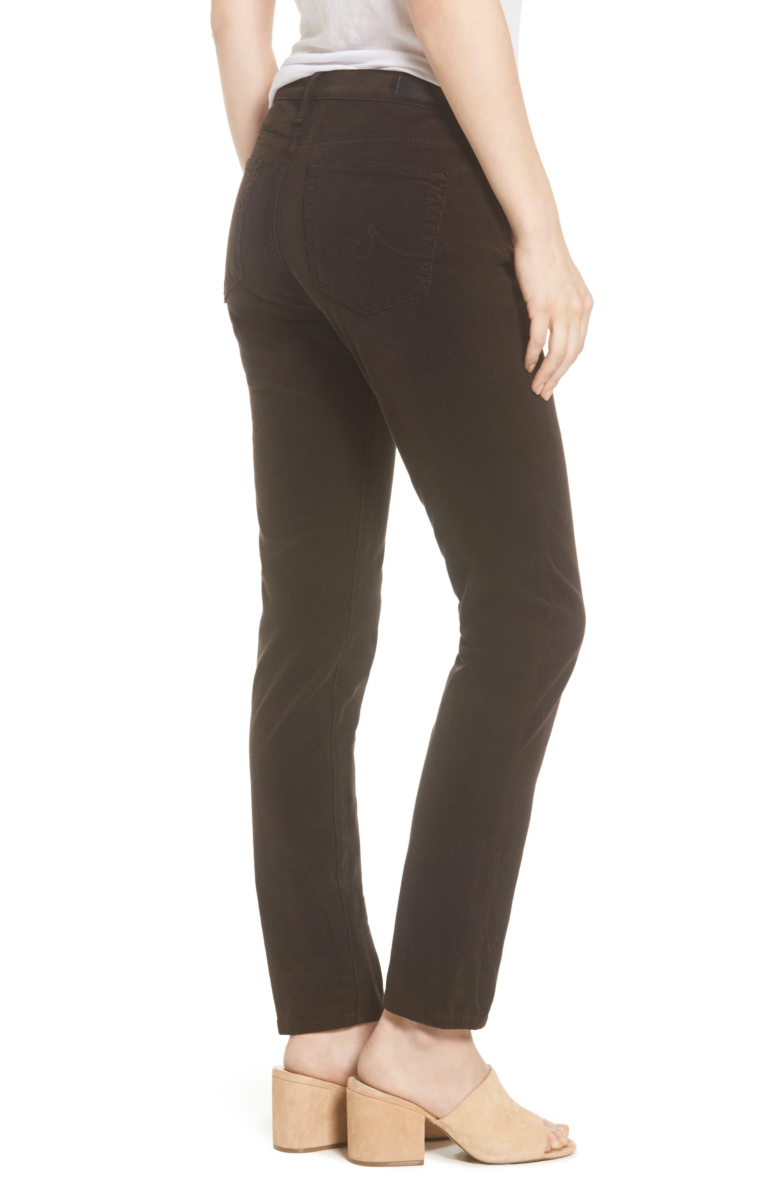 Alternate Image 2  - AG 'Prima' Corduroy Skinny Pants