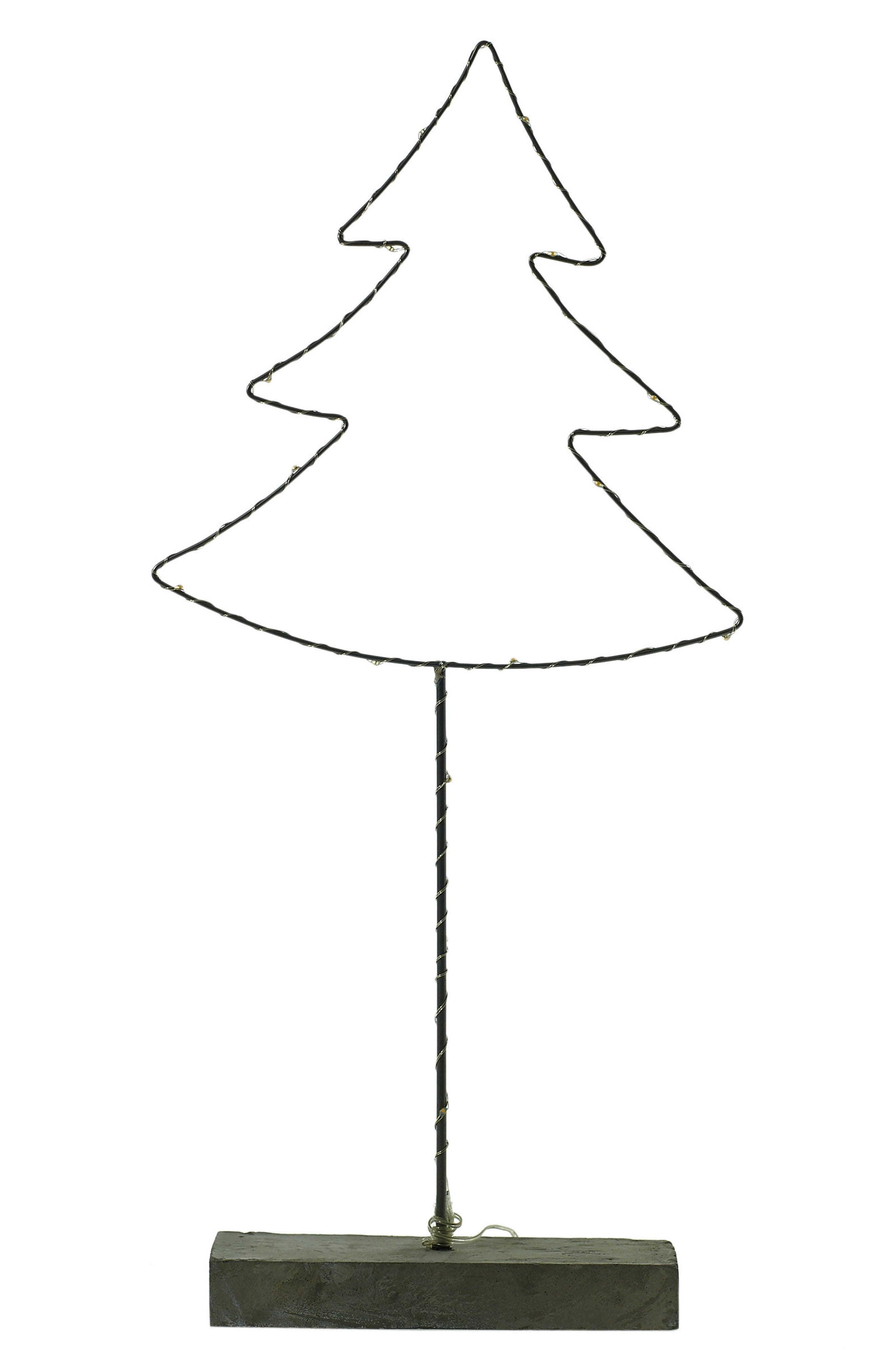 Glee LED Wire Tree,                         Main,                         color, Silver