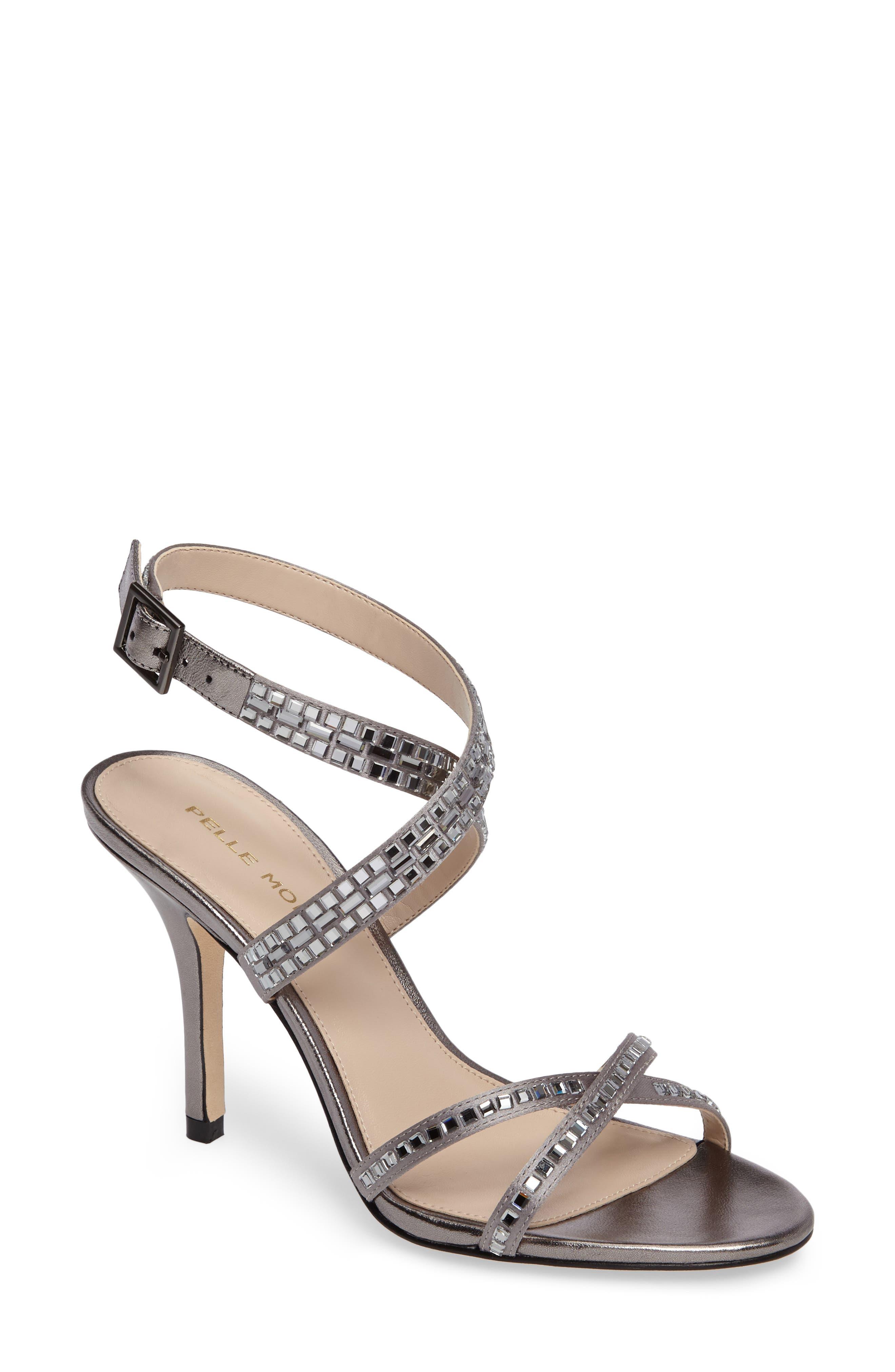 Pelle Moda Katya Embellished Sandal (Women)