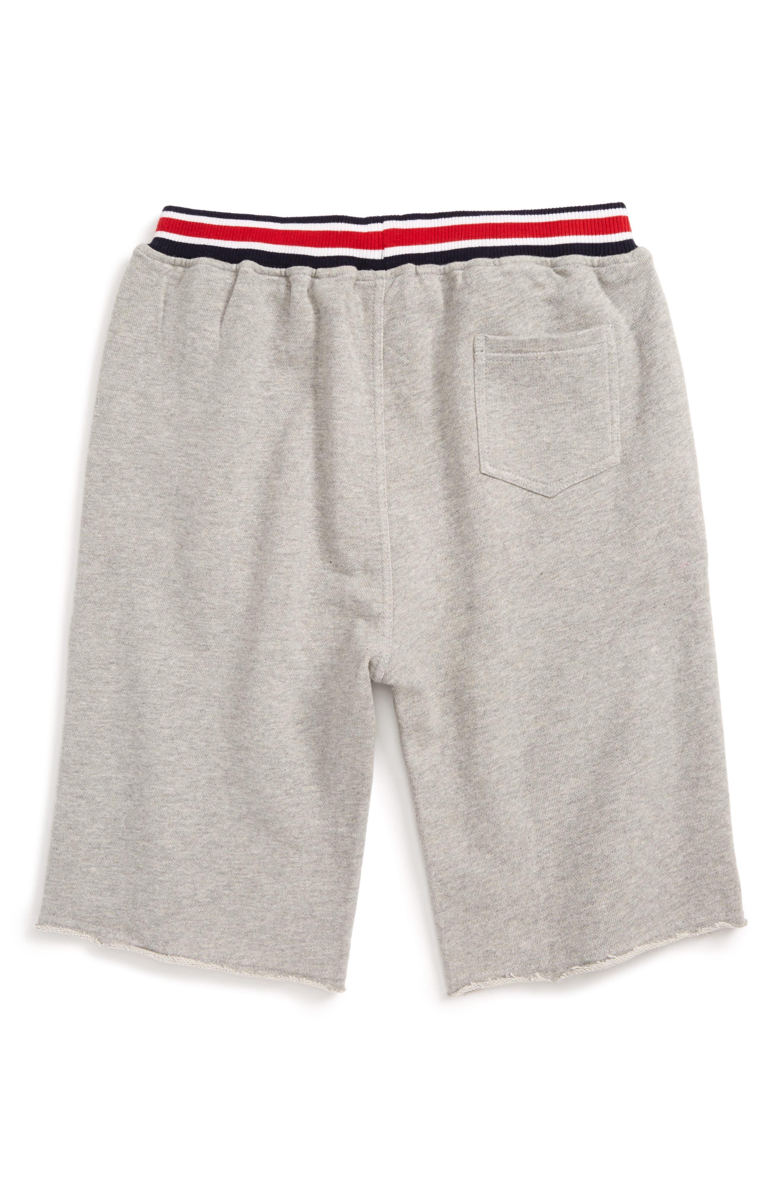 Alternate Image 2  - Peek Varsity Knit Shorts (Toddler Boys, Little Boys & Big Boys)
