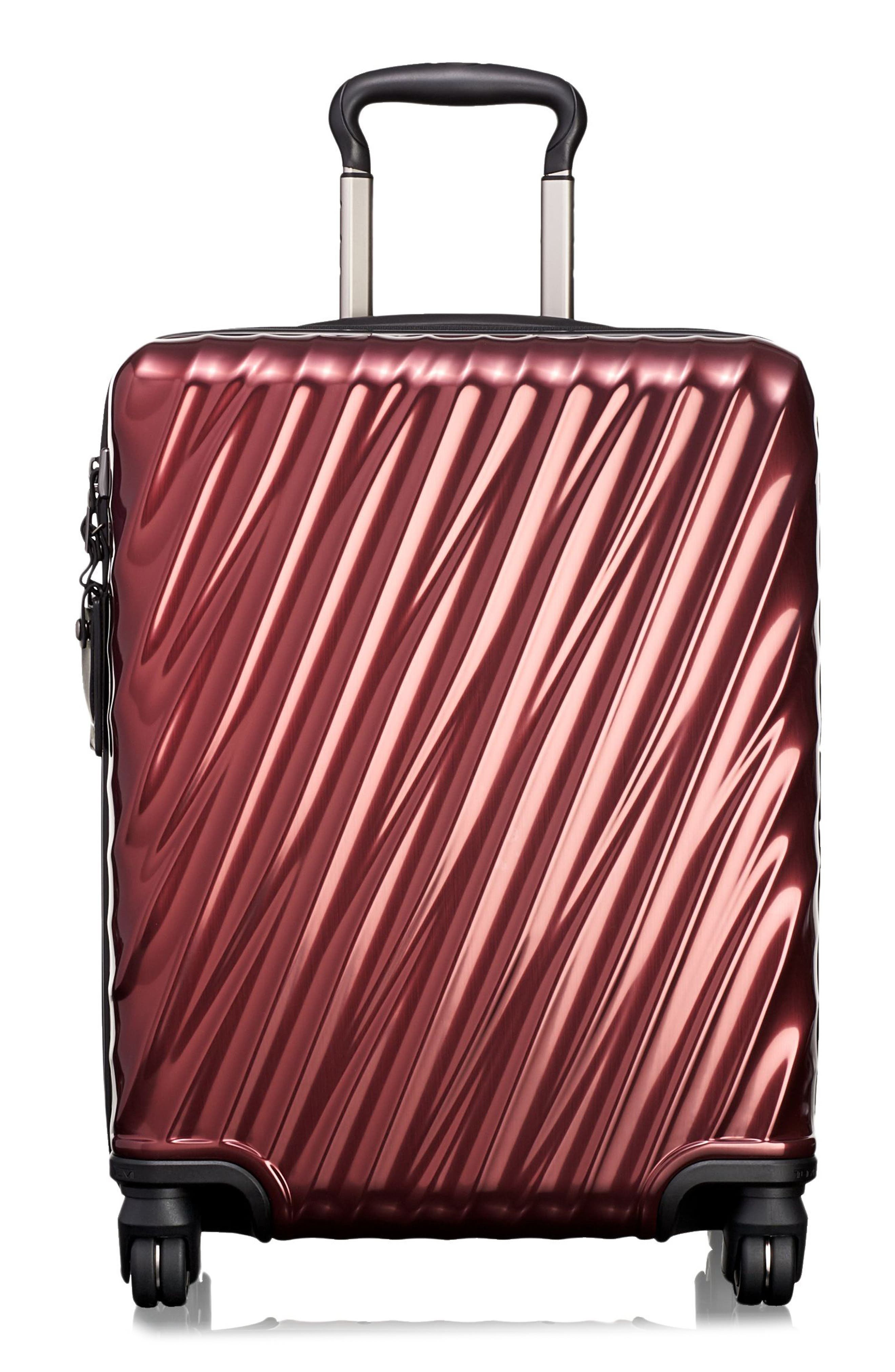 TUMI 19 Degree 22 Inch Continental Wheeled Aluminum Carry-On