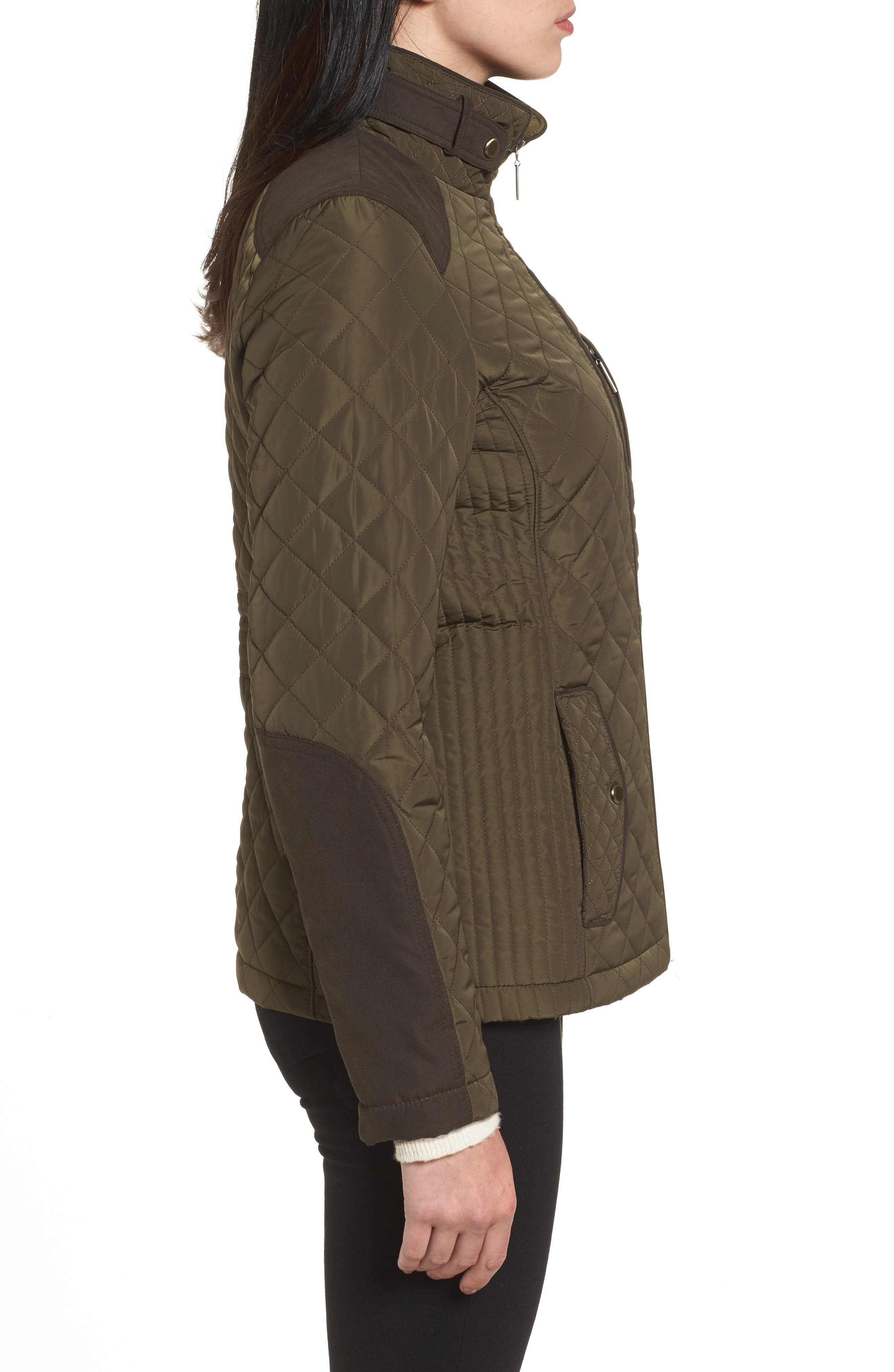 Insulated Jacket,                             Alternate thumbnail 3, color,                             Fatigue