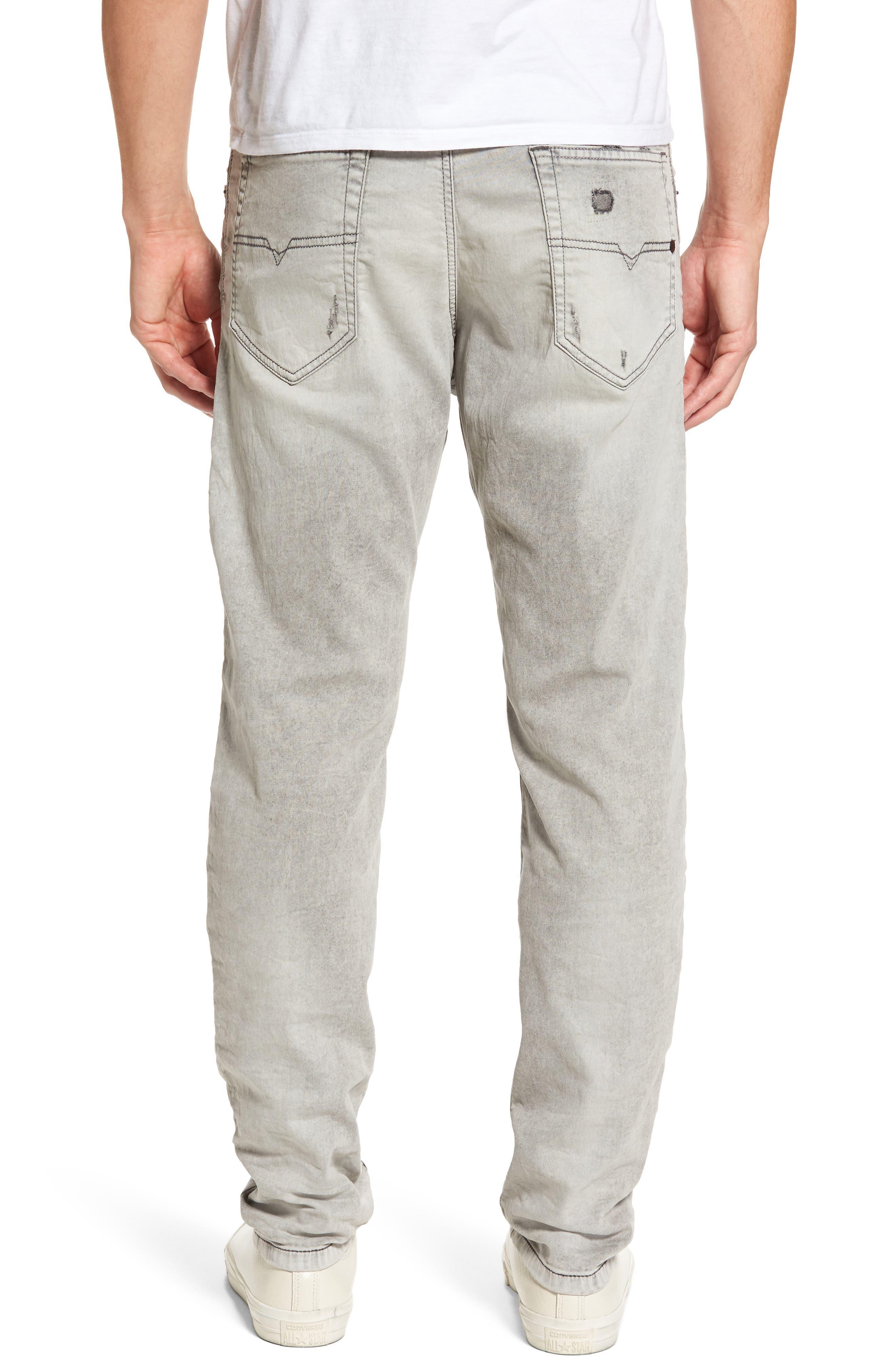 Alternate Image 2  - DIESEL® Narrot Slouchy Skinny Fit Jeans (0684M)