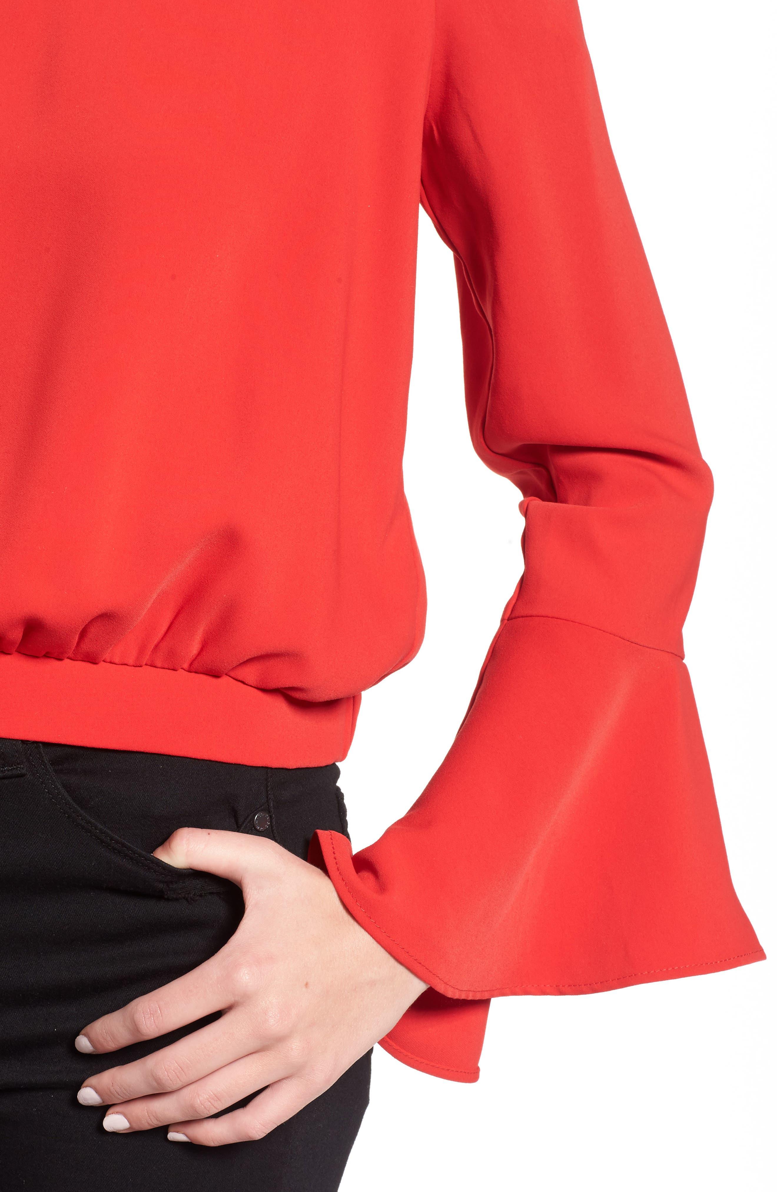 Alternate Image 4  - Bardot Elson Off the Shoulder Top